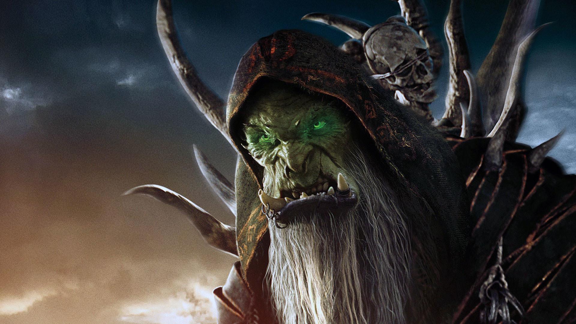 Res: 1920x1080, warcraft shaman face beard