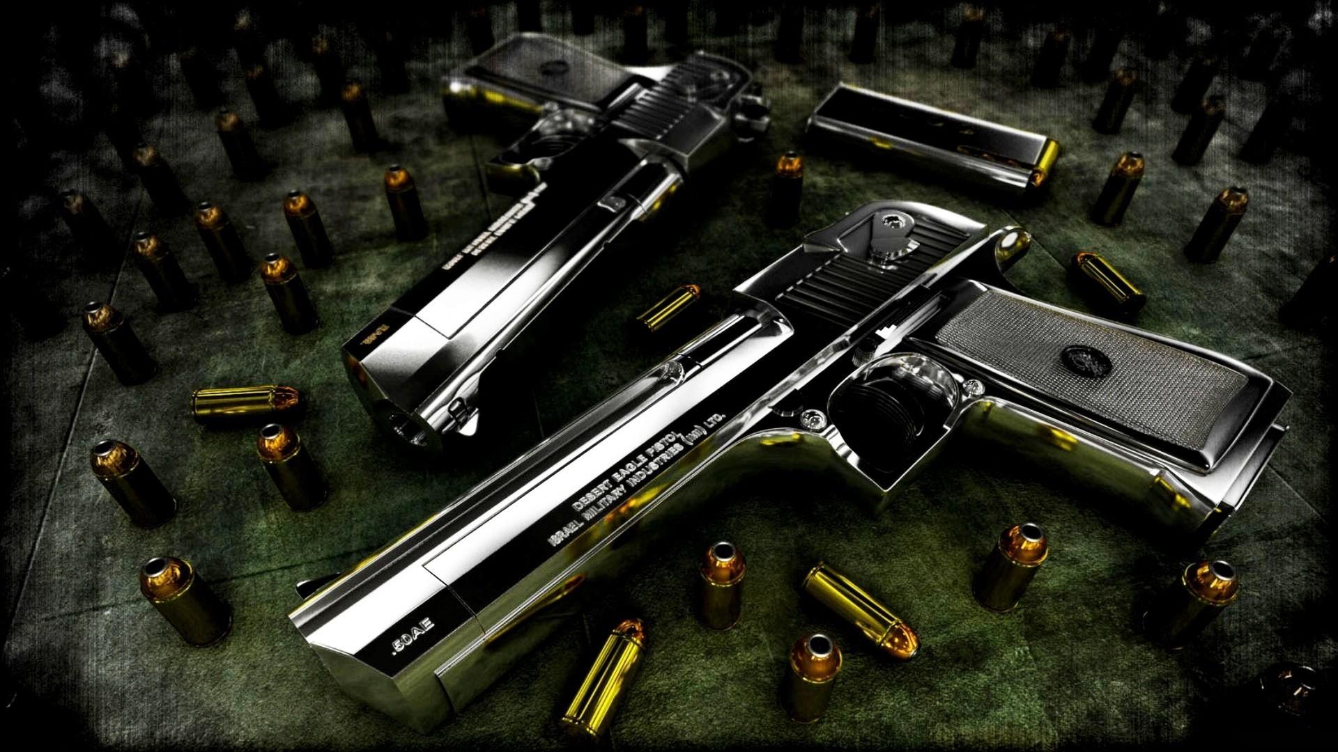 Res: 1920x1080, Duel Guns HD Wallpaper