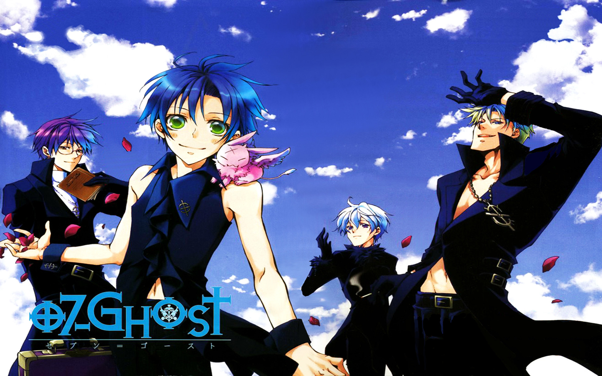 Res: 1920x1200, 07-ghost anime images 07-ghost HD wallpaper and background photos