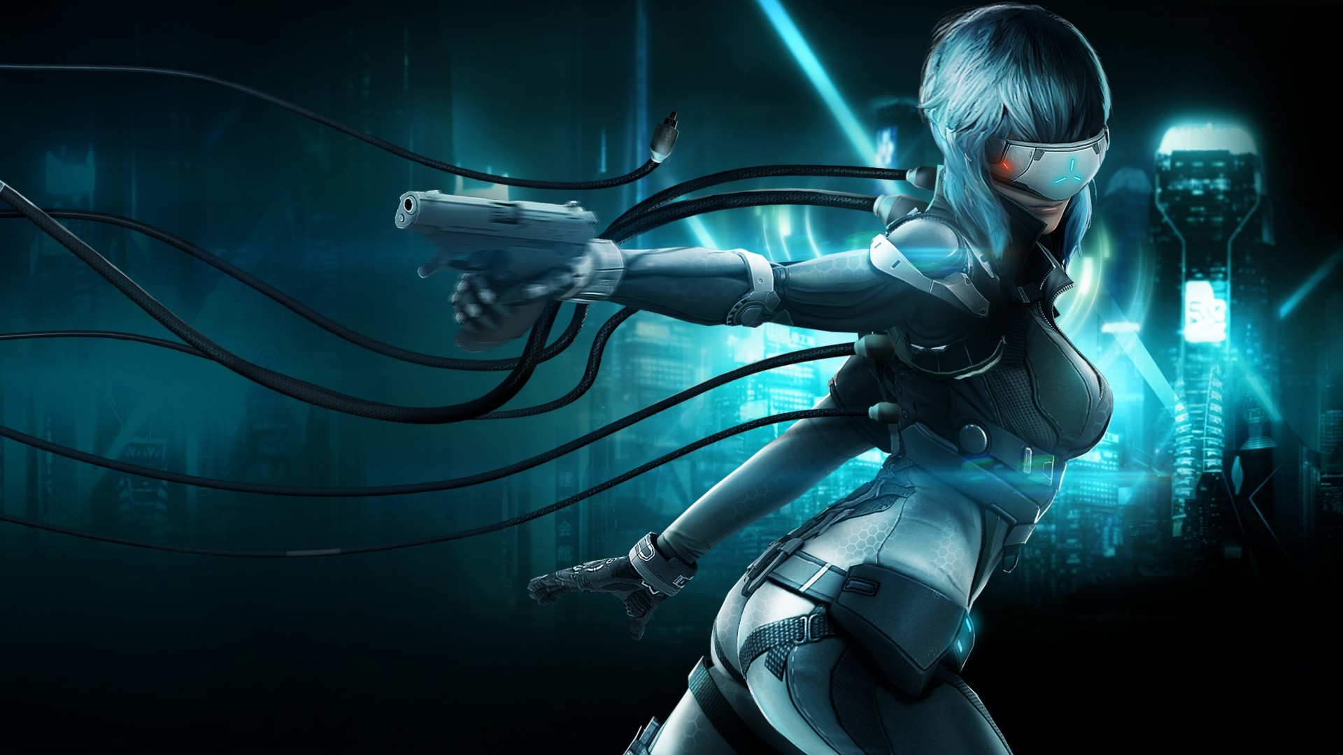 Res: 1920x1080, ghost in the shell stand alone complex first assault online 1920×1080
