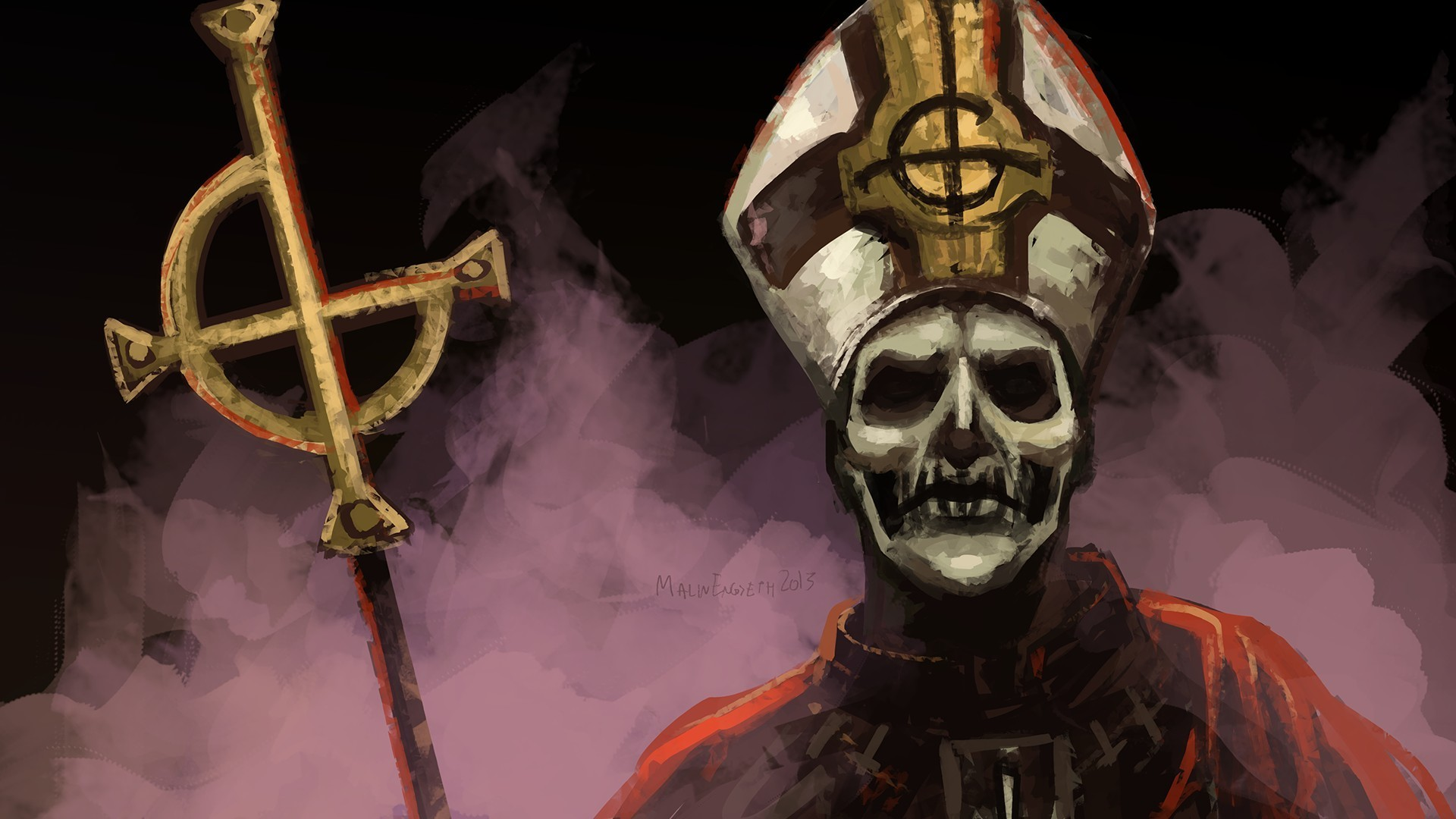Res: 1920x1080, Ghost B.C. Wallpapers 6 - 1920 X 1080
