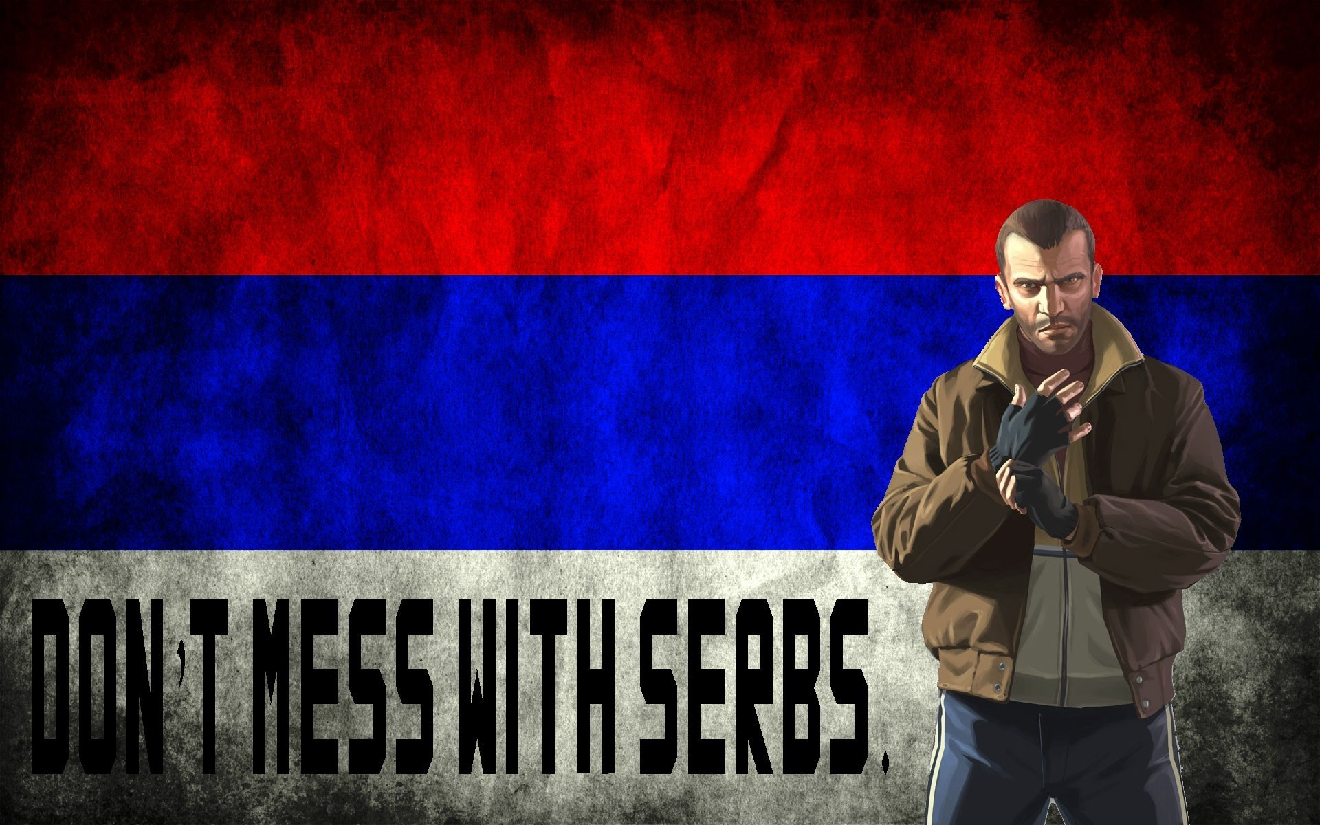 Res: 1920x1200, Serbia niko bellic grand theft auto iv wallpaper