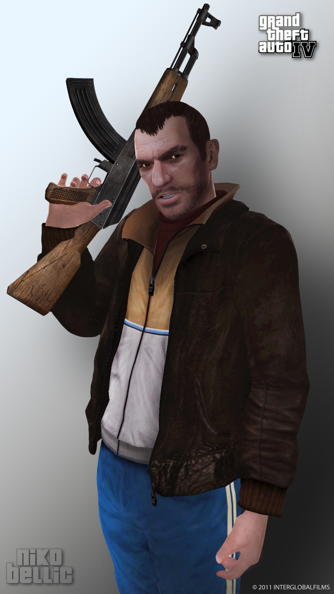 Res: 1080x1920, ... InterGlobalFilms Niko Bellic Render - GTAIV by InterGlobalFilms