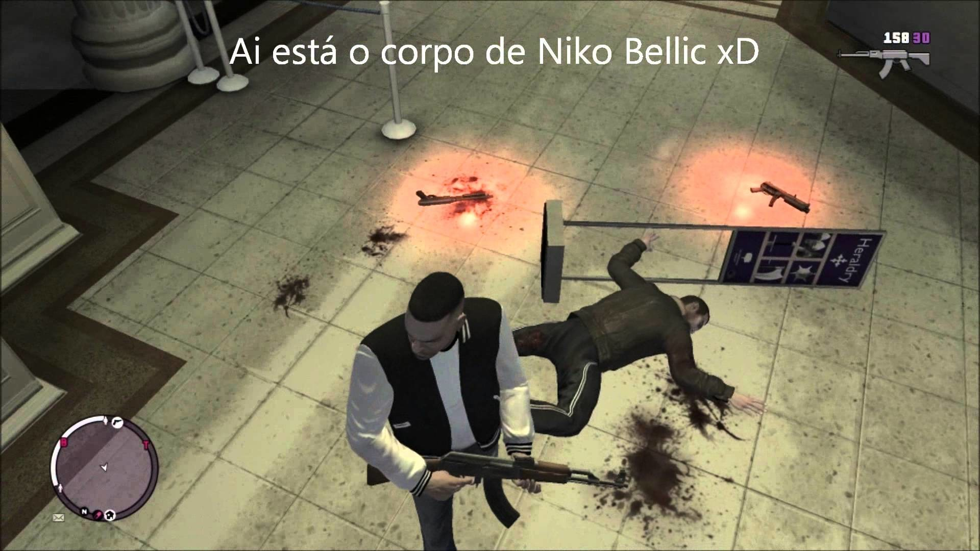 Res: 1920x1080, GTA: EFLC - Como matar Niko Bellic e Johnny Klebitz/ How to Kill Niko and  Johnny