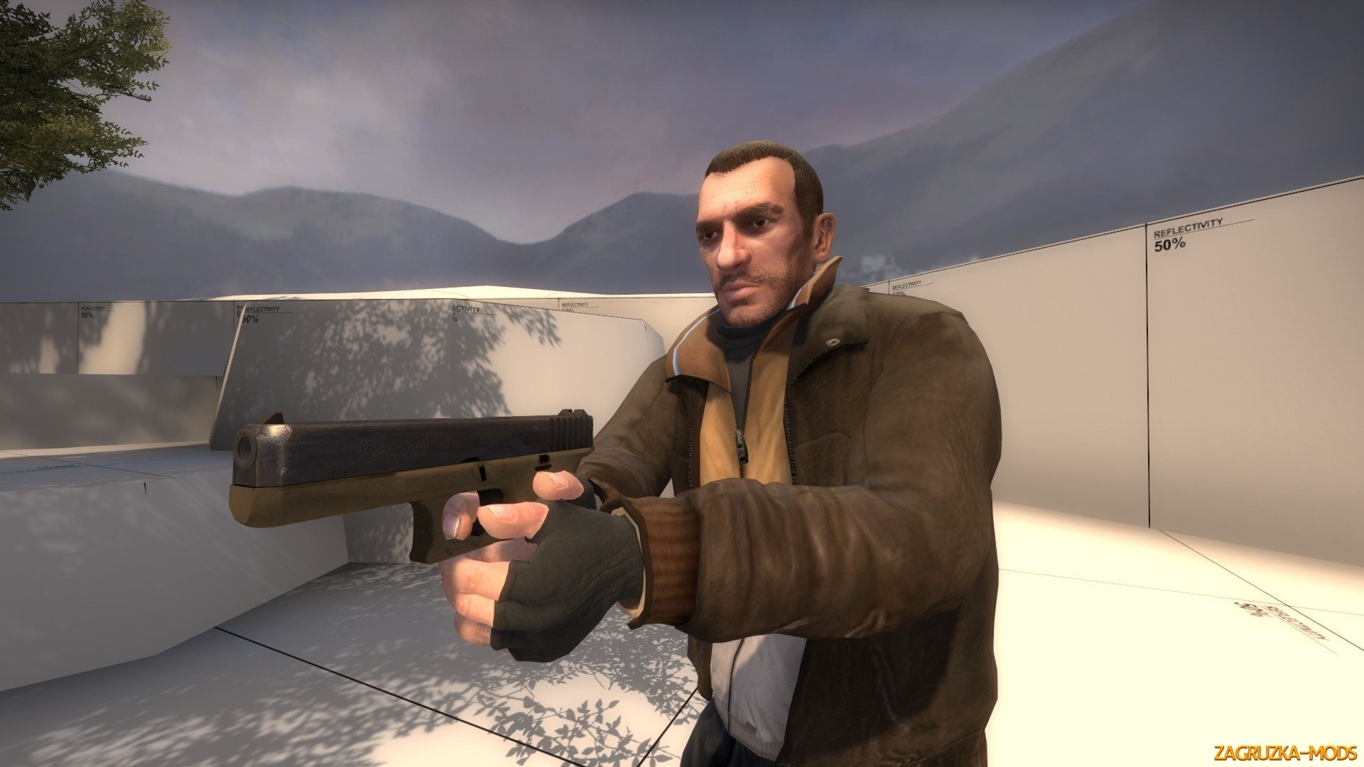 Res: 1920x1080, ... Niko Bellic Skin from GTA IV for CS:GO