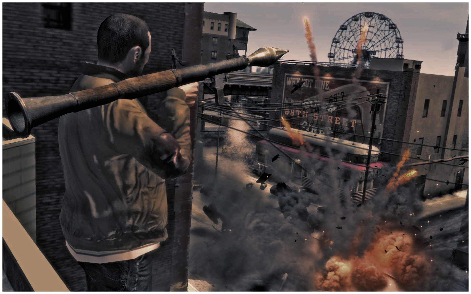 Res: 1920x1200, ... Niko Bellic (Grand Theft Auto IV Hero) by stalkersdxx