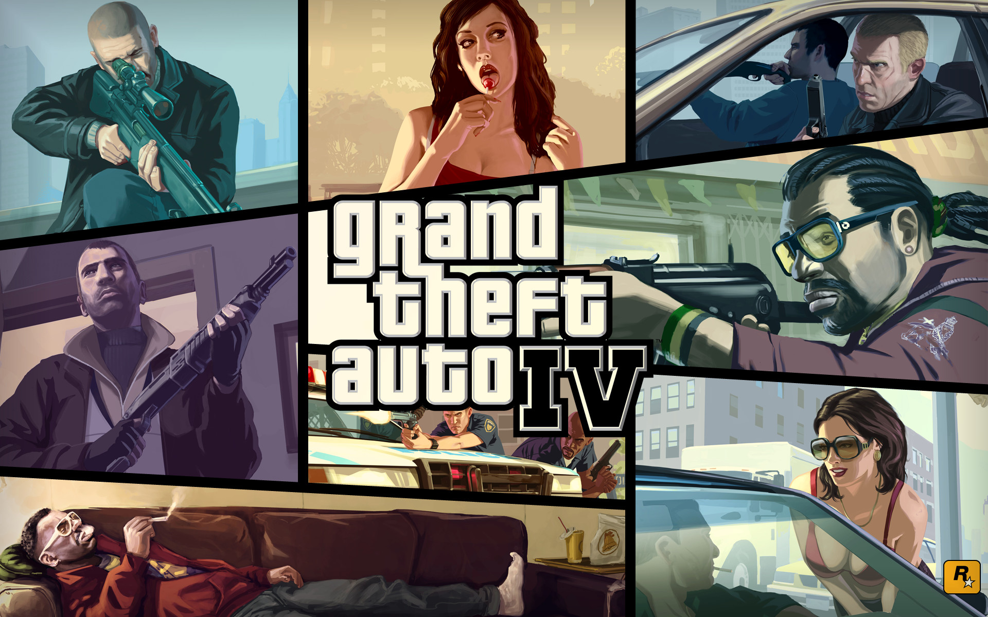 Res: 1920x1200, Grand Theft Auto IV #17