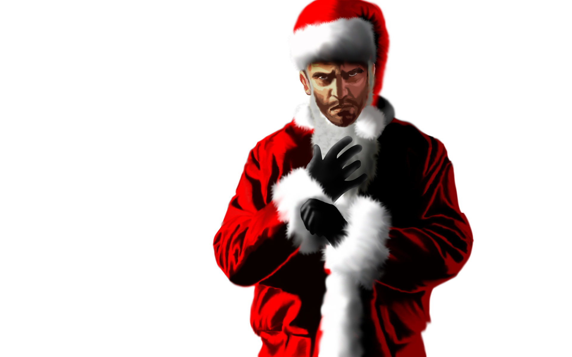 Res: 1920x1200, Niko Bellic - Santa by LeeShackleton Niko Bellic - Santa by LeeShackleton