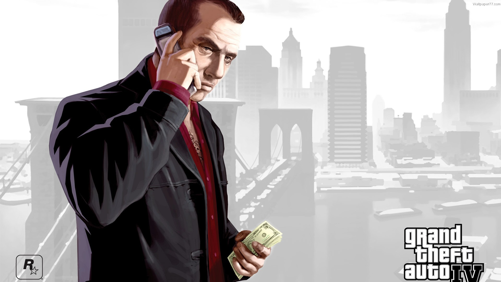 Res: 1920x1080, Gta 4 Wallpaper Hd