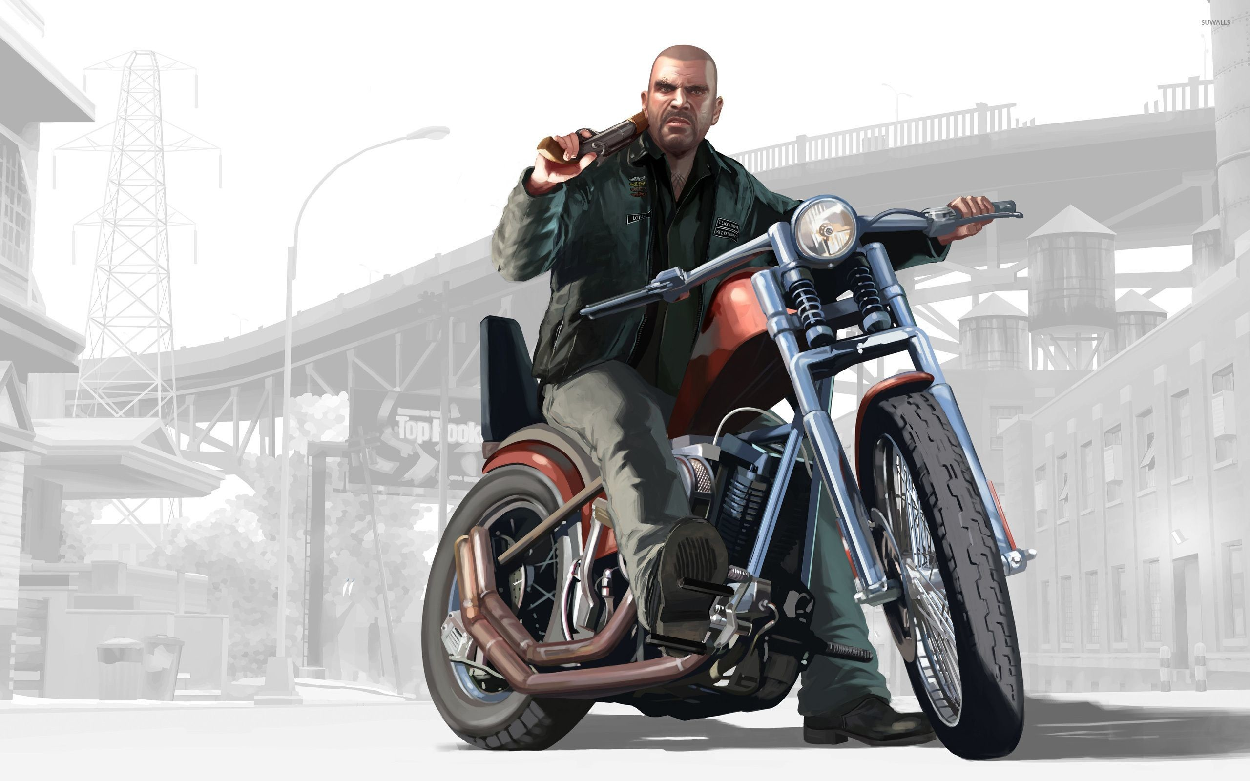 Res: 2560x1600, Download Wallpaper x Gta Grand theft auto Niko bellic