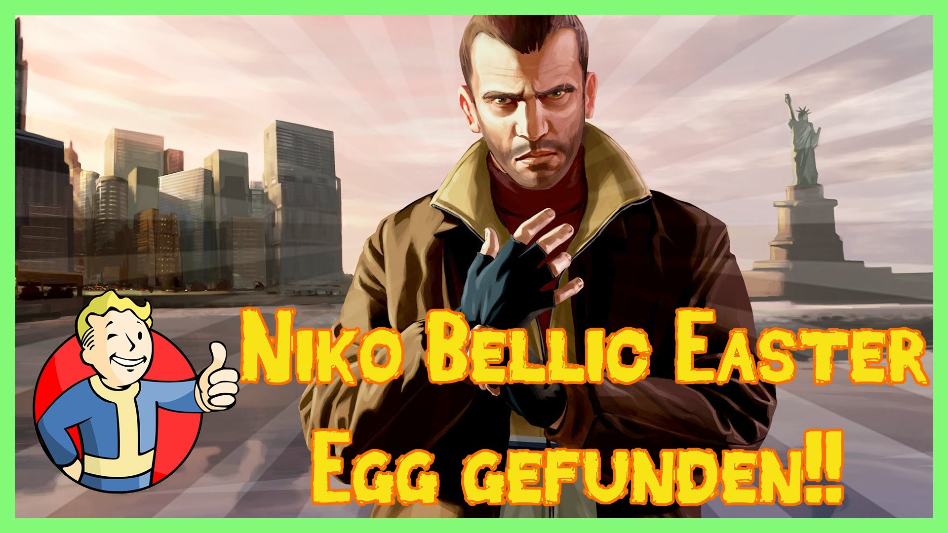Res: 1920x1080, Fallout 4 - Niko Bellic Easter Egg gefunden!! GTA 4 Easter Egg (Fallout 4  Secrets)