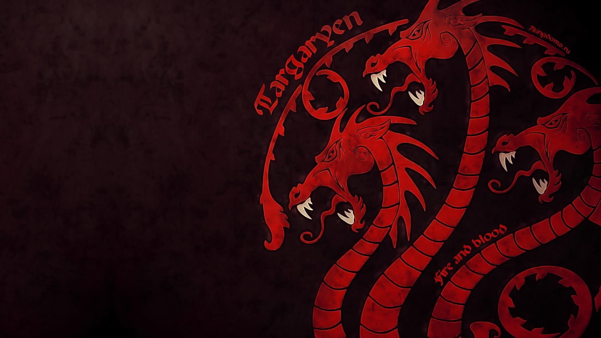 Targaryen Sigil Wallpapers Hd Wallpaper Collections