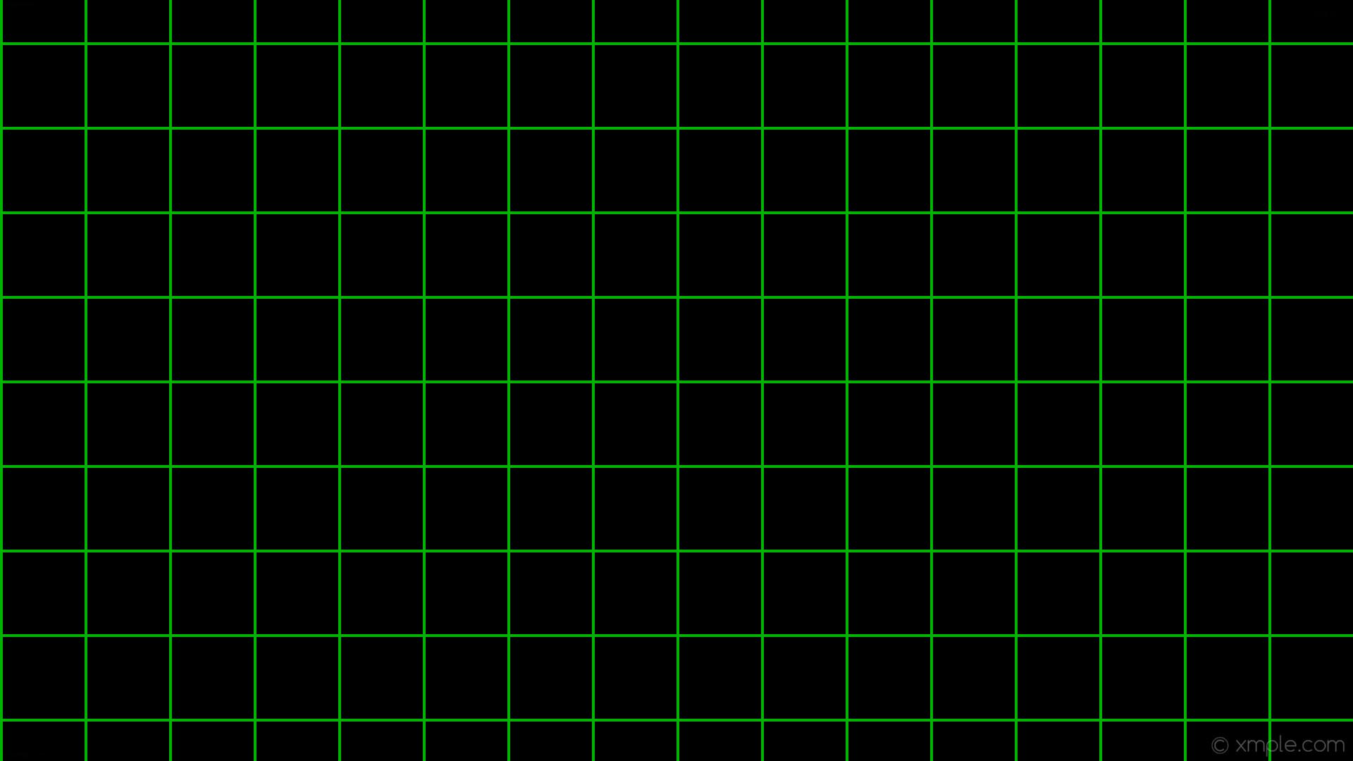 Res: 1920x1080, wallpaper graph paper black green grid lime #000000 #00ff00 0° 4px 120px