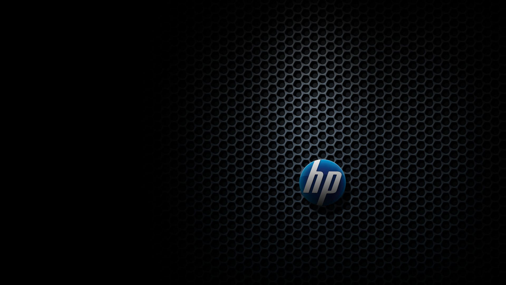Res: 1920x1080, HP logo on the grid