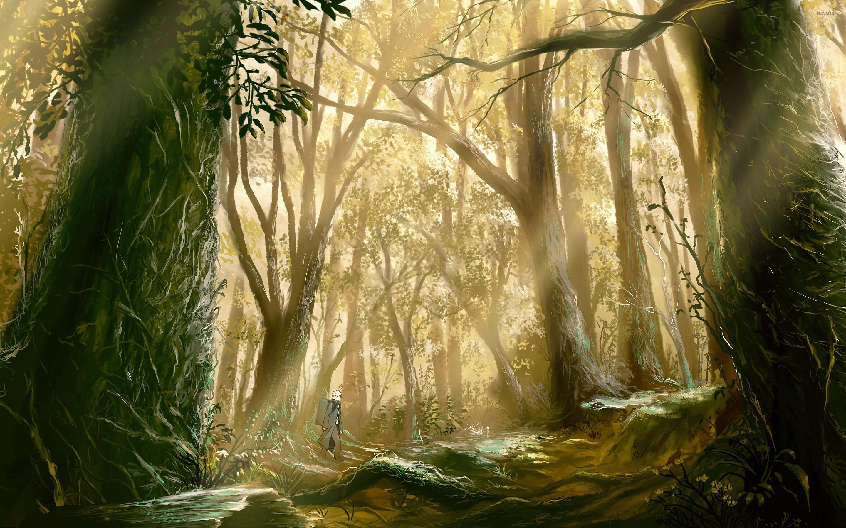 Res: 2880x1800, Mushishi [2] wallpaper