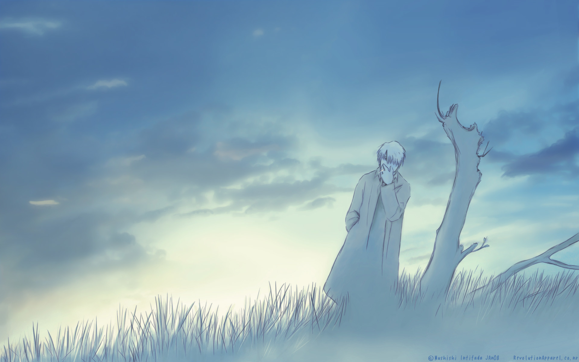 Res: 1920x1200, Anime - Mushishi Ginko (Mushishi) Wallpaper