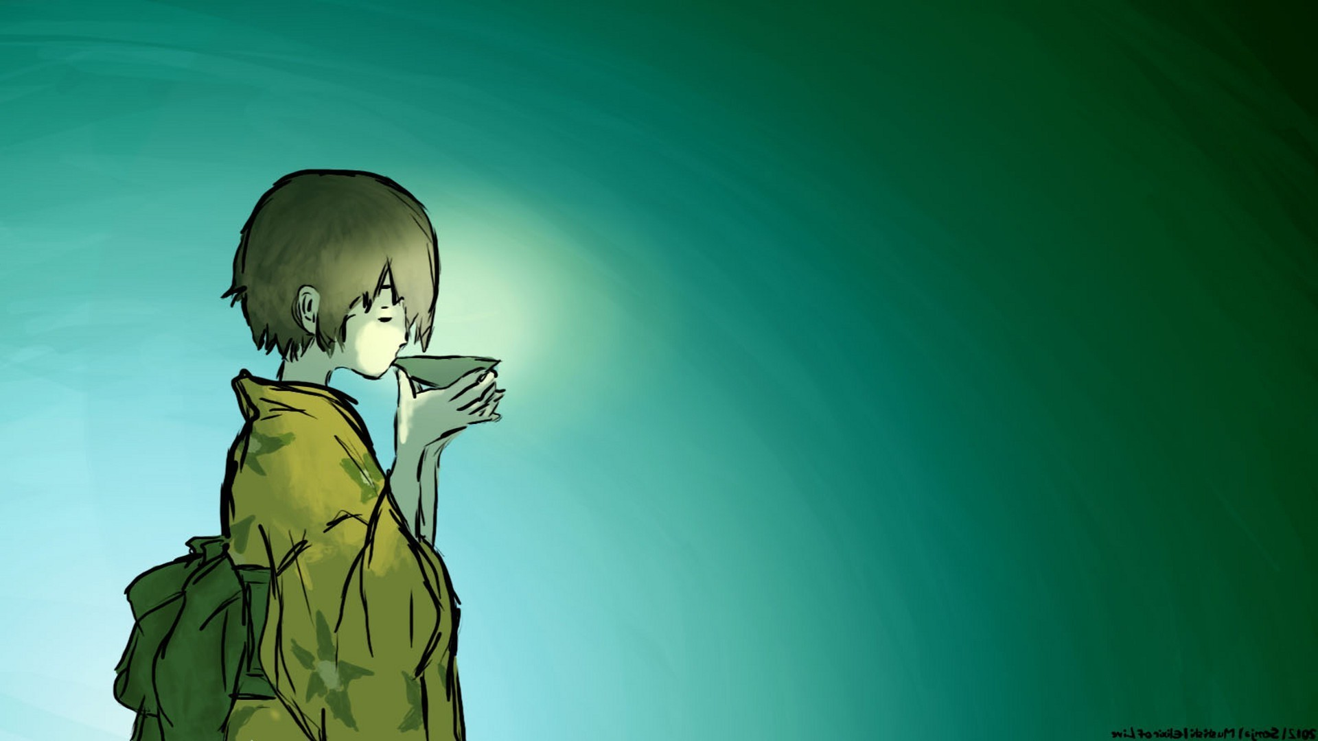Res: 1920x1080, Mushishi Ginko wallpaper