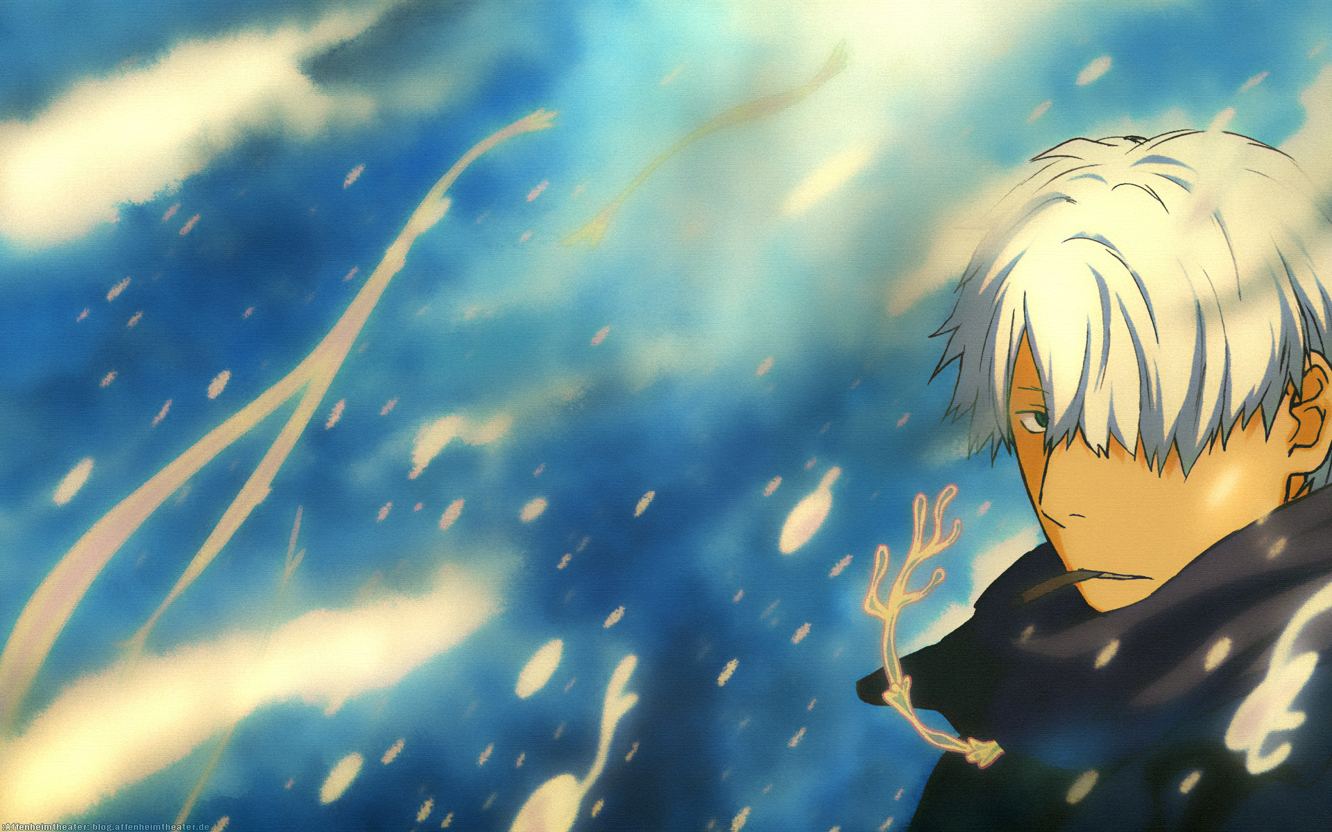 Res: 1920x1200, Ginko Mushishi 8 Desktop Wallpaper