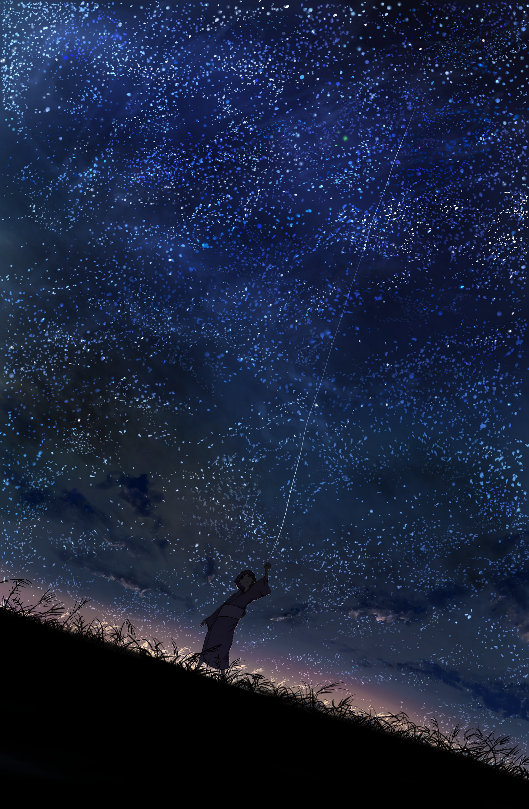 Res: 1700x2600, Fuki (Mushishi) · download Fuki (Mushishi) image
