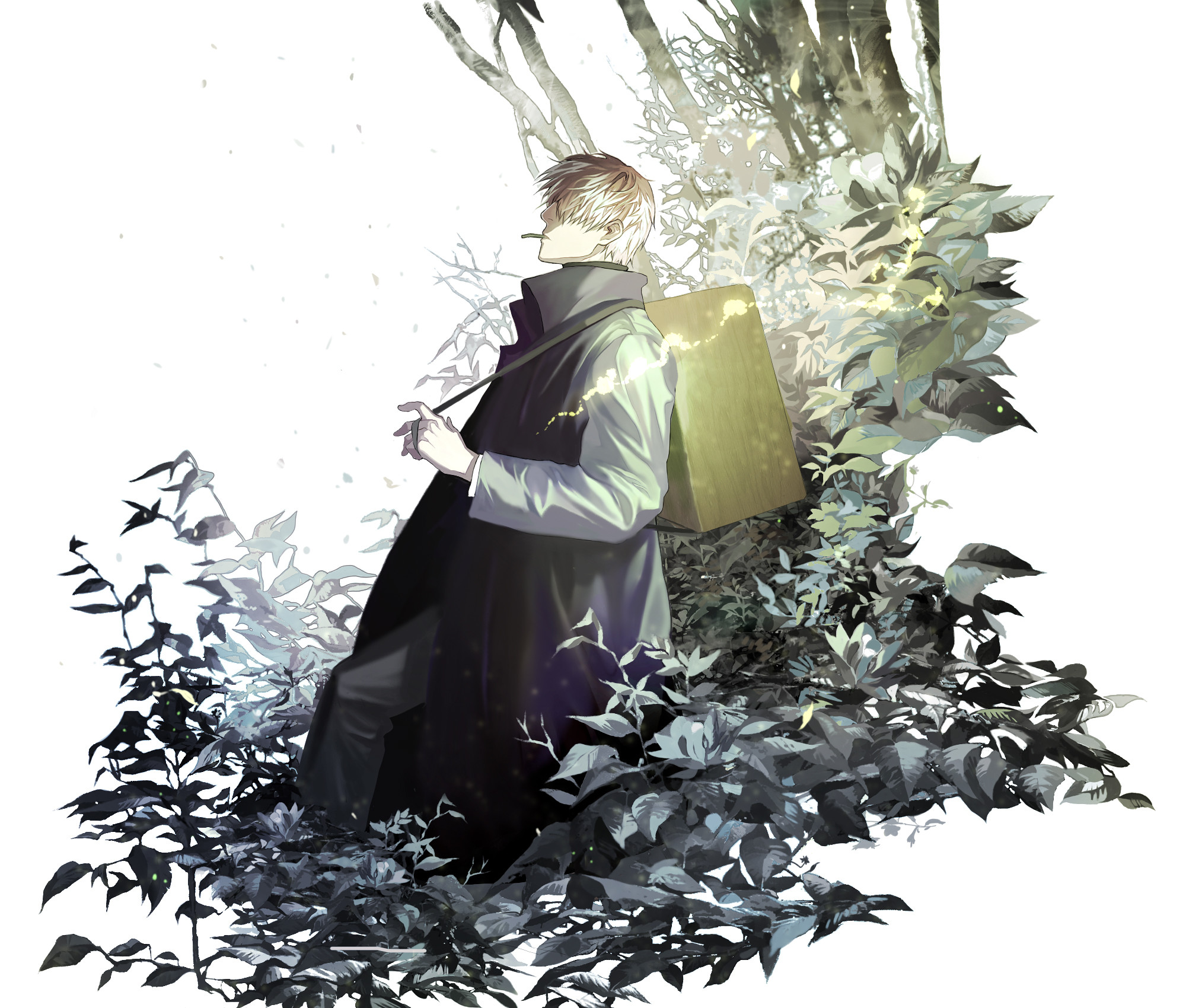 Res: 2000x1700, Ginko (Mushishi) download Ginko (Mushishi) image