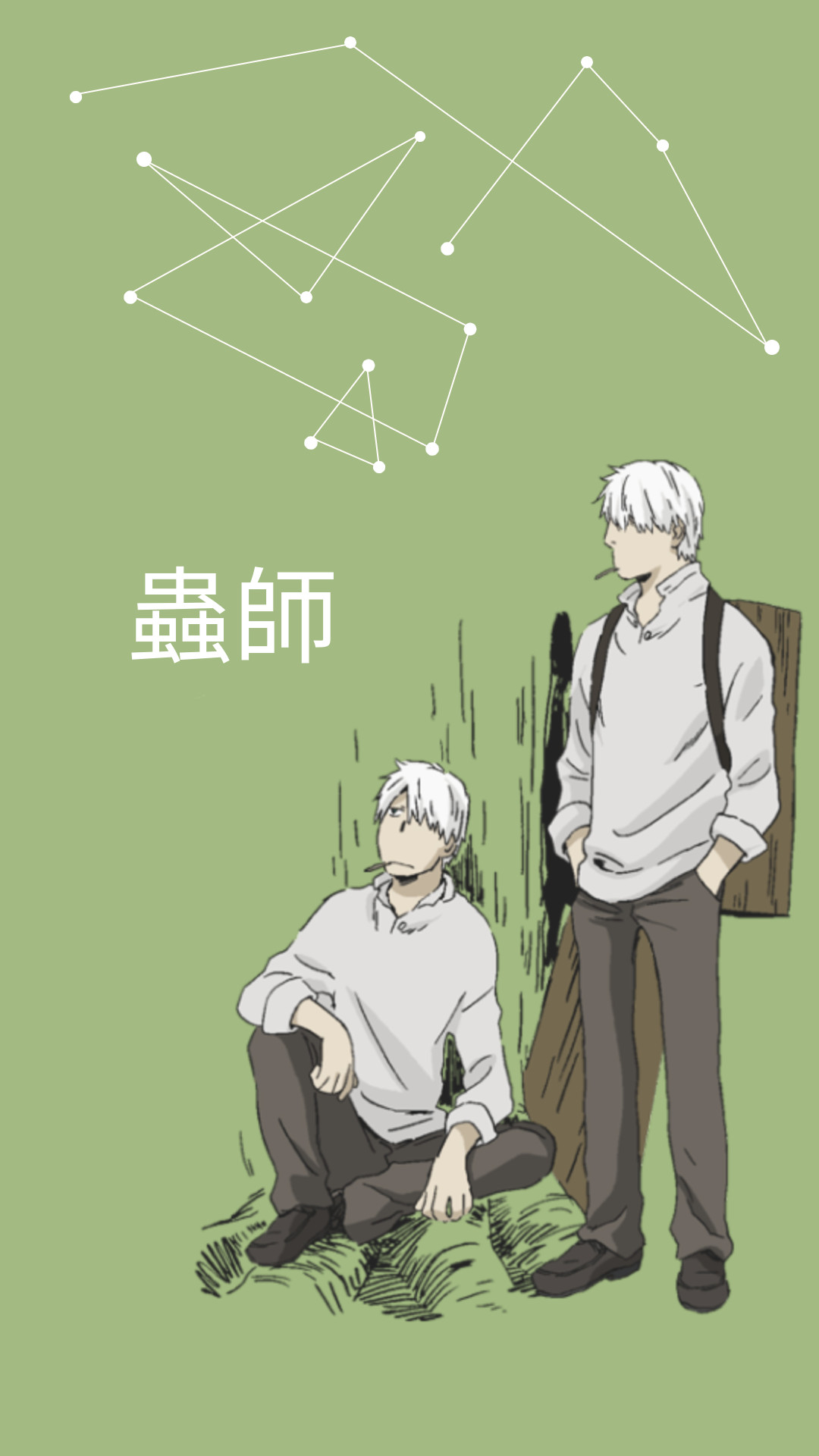 Res: 1080x1920, Mushishi mobile wallpapers/lockscreens