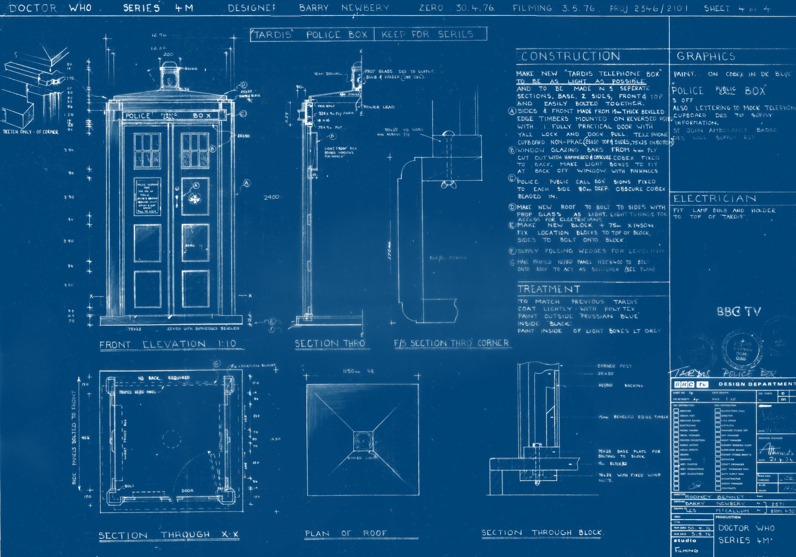 Res: 2739x1917, Tardis Blueprints Wallpaper