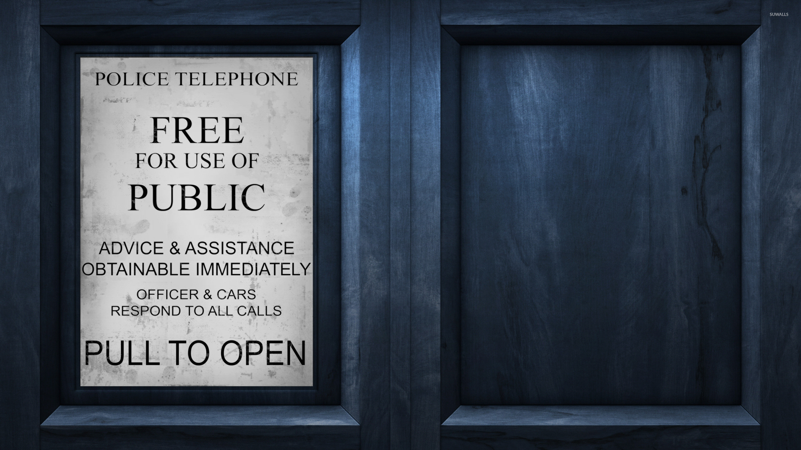 Res: 2560x1440, Tardis - Doctor Who [2] wallpaper
