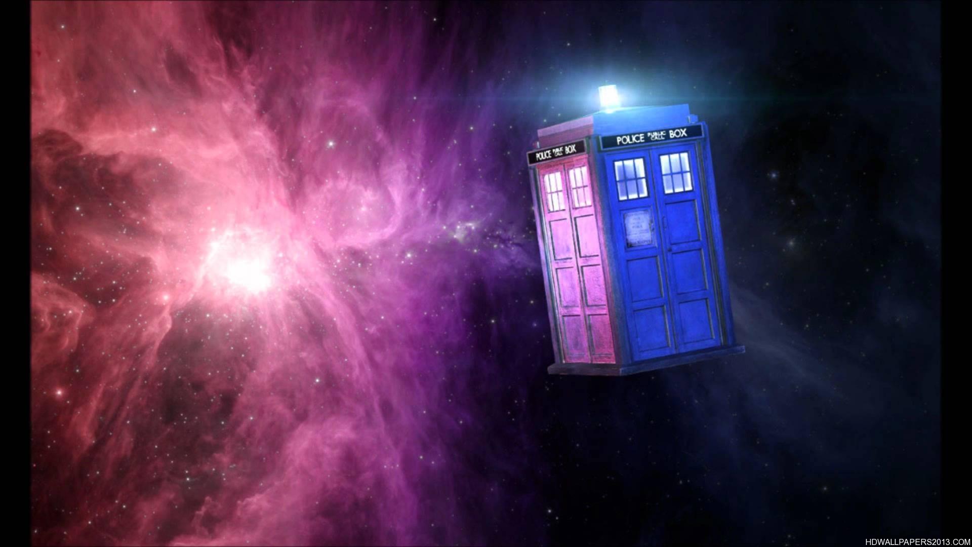 Res: 1920x1080, The TARDIS