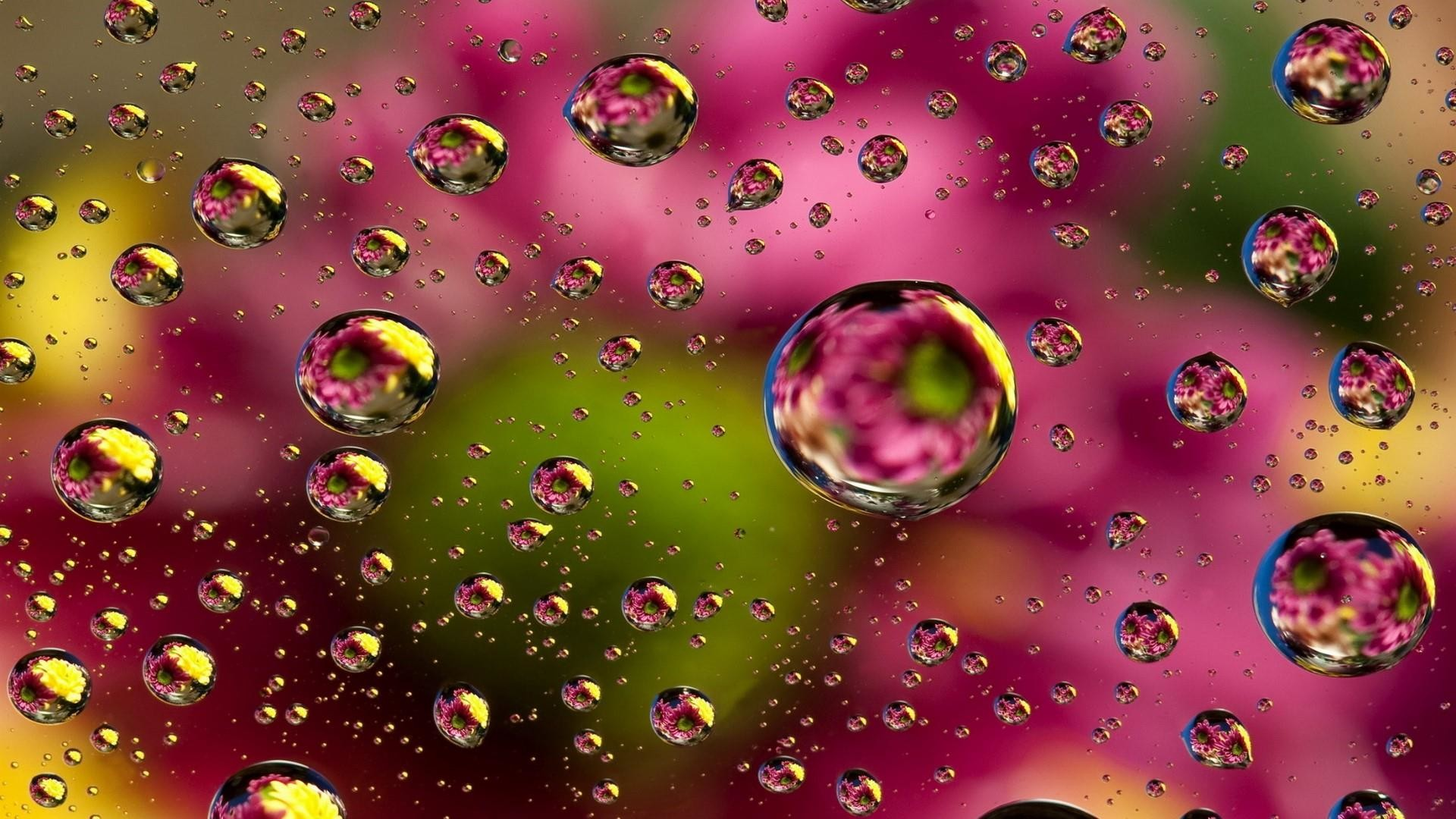 Res: 1920x1080, Colorful Waterdrops Wallpaper | Wallpaper Studio 10 | Tens of thousands HD  and UltraHD wallpapers for Android, Windows and Xbox