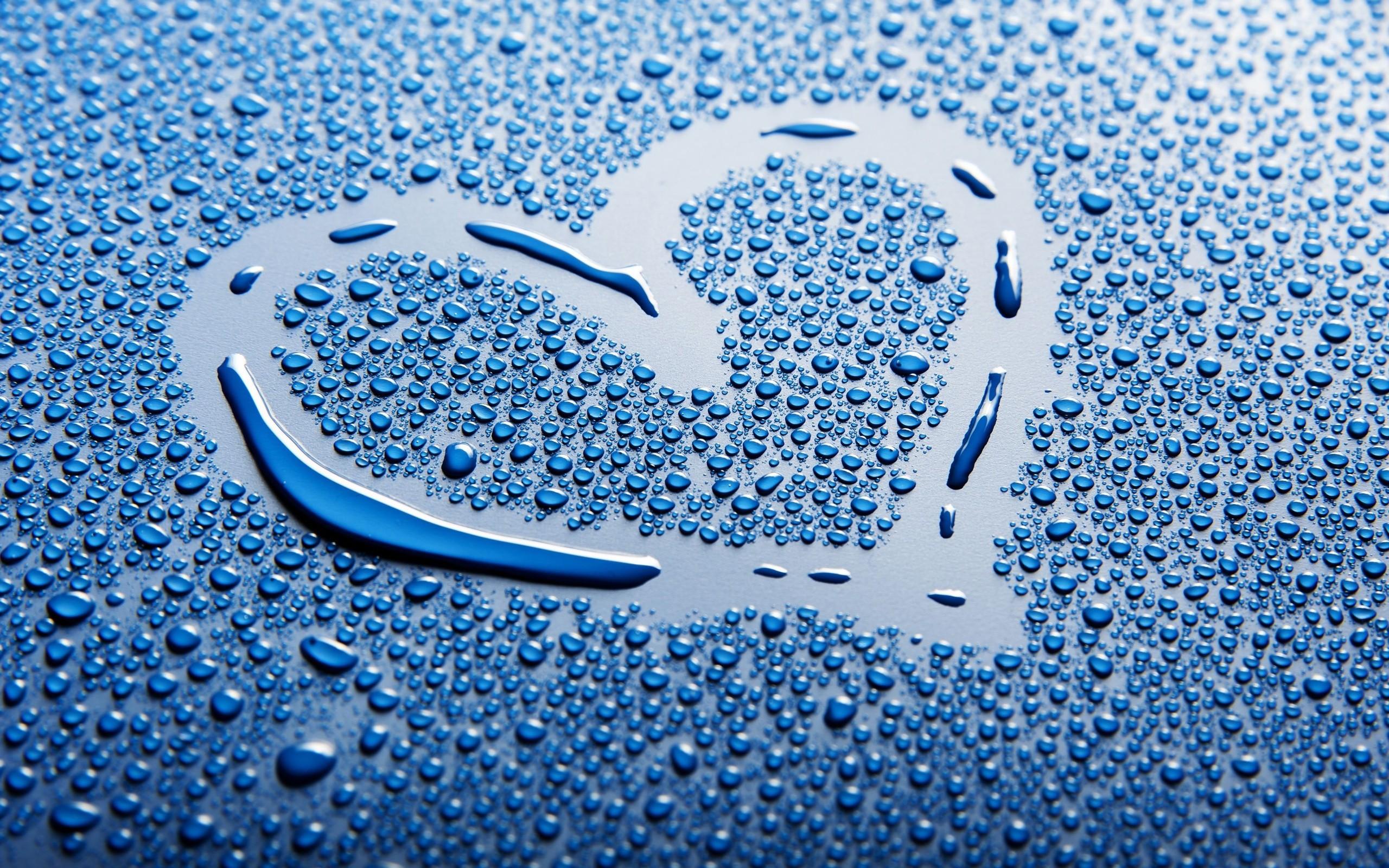 Res: 2560x1600, Cute Water Drops Wallpaper 3519