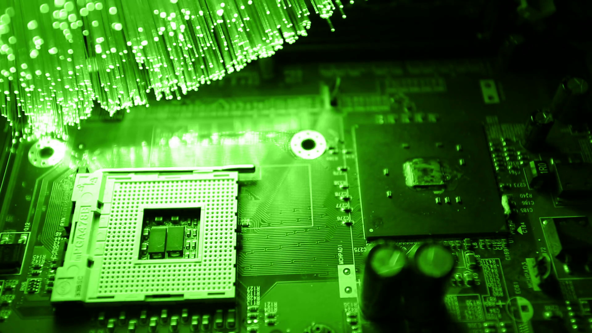 Res: 1920x1080, cpu and motherboard with Fiber optics background, shot in HD Stock Video  Footage - Videoblocks