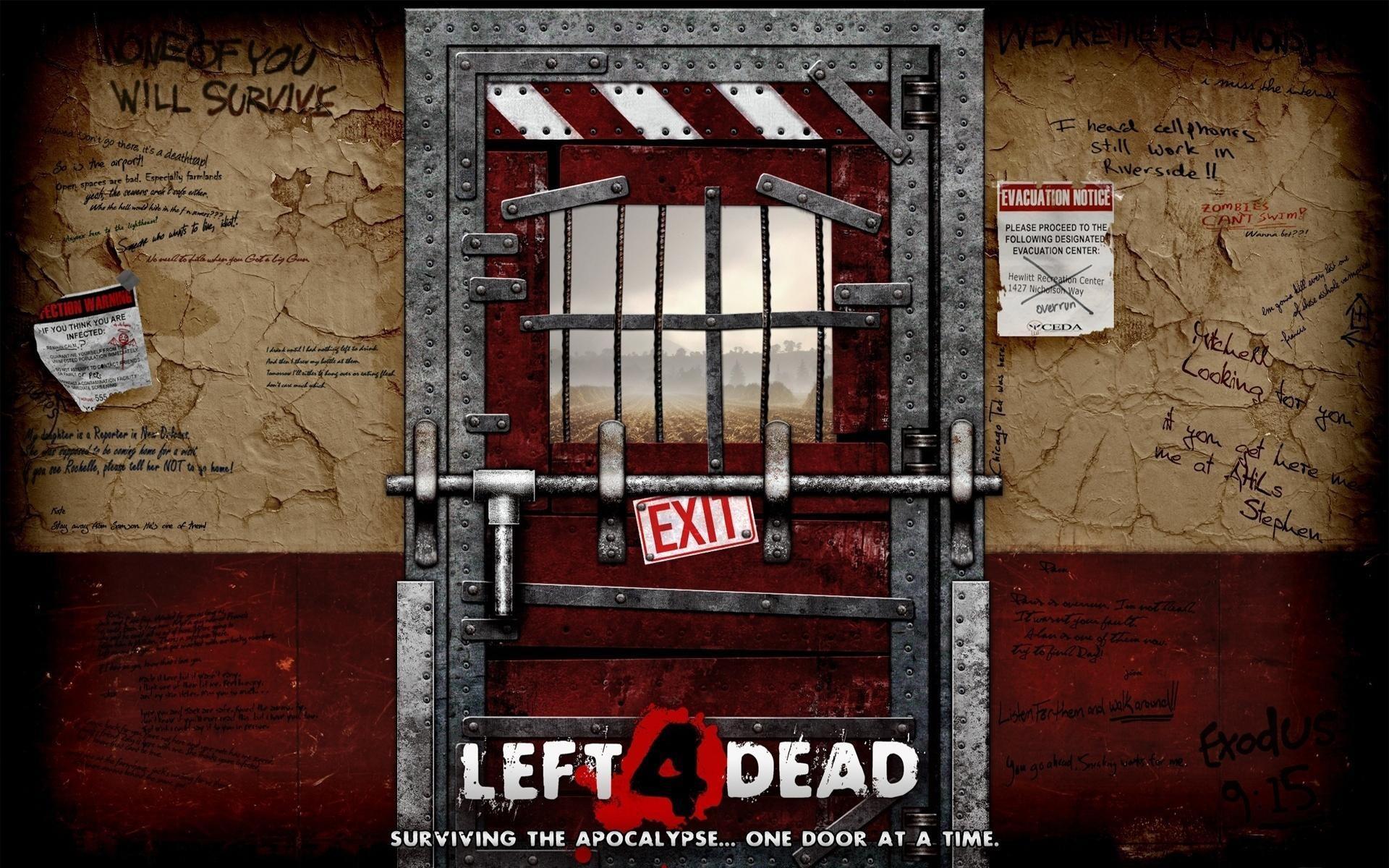 Res: 1920x1200, Left 4 Dead Door