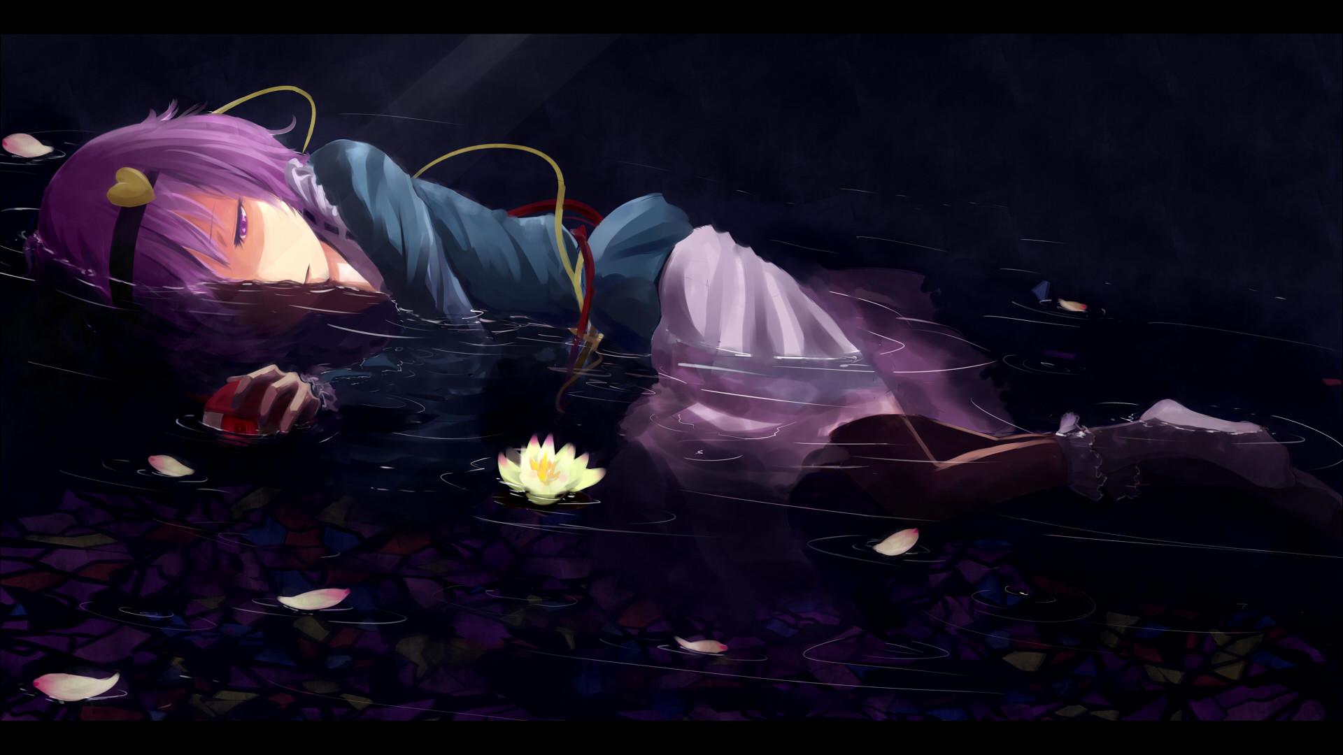 Res: 1920x1080, Anime - Touhou Satori Komeiji Wallpaper