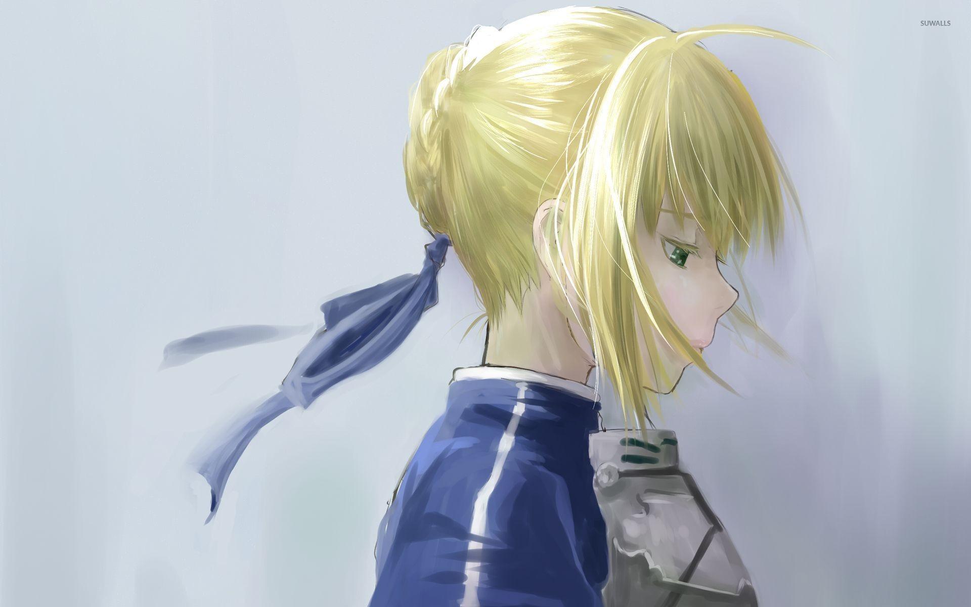 Res: 1920x1200, Sad blonde girl [2] wallpaper