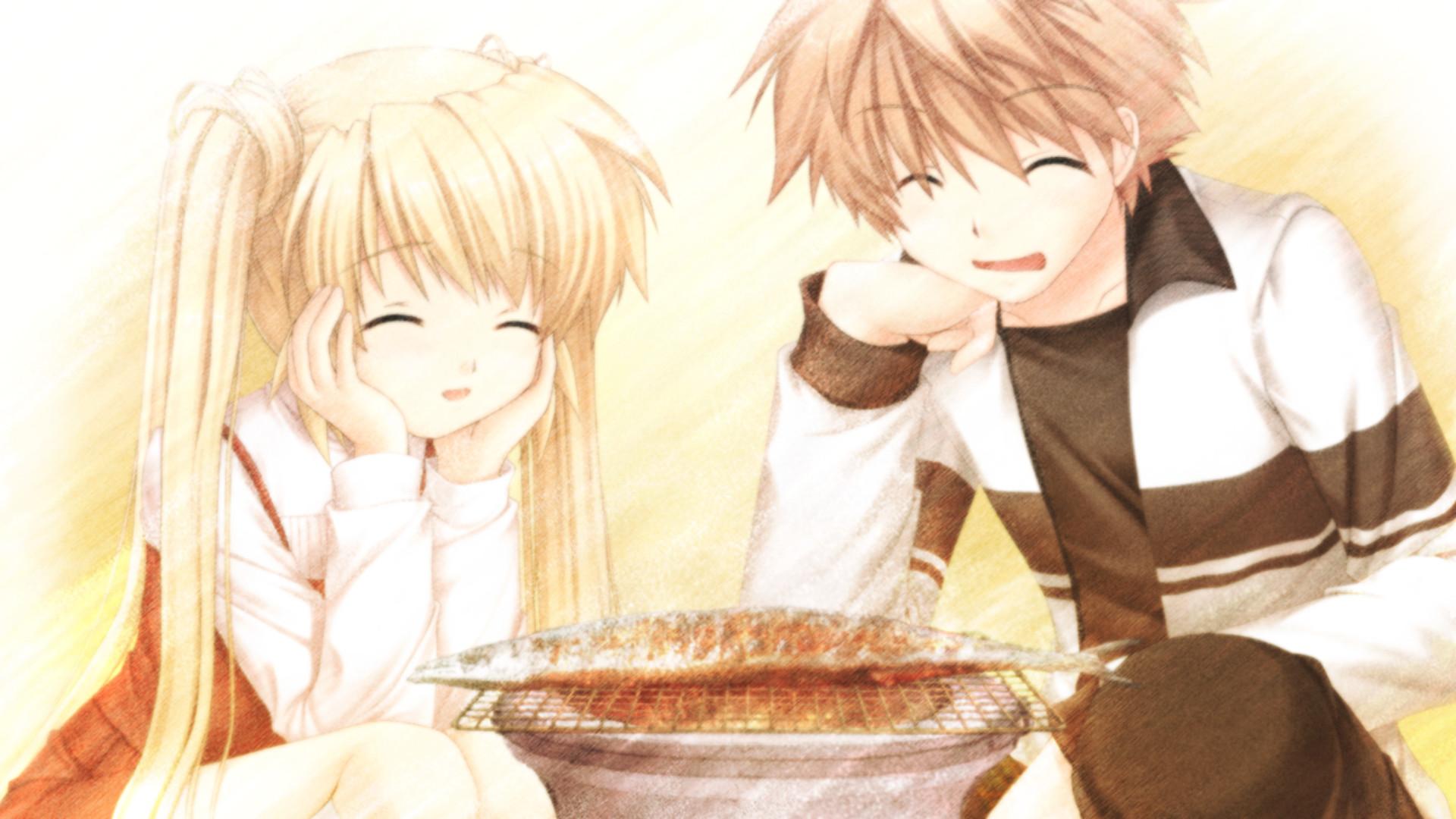 Res: 1920x1080, Heartwarming, sad anime images Rewrite - Shizuru and Saury ;( HD wallpaper  and background photos