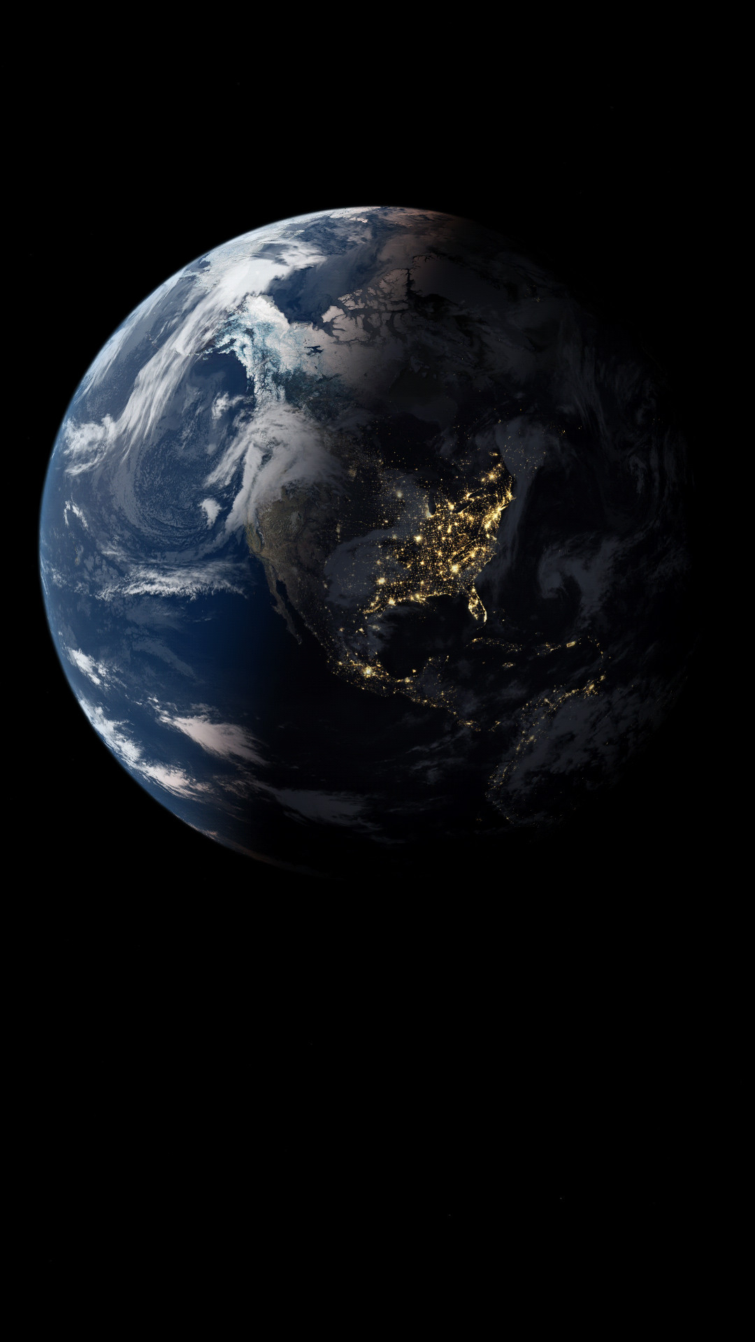 Res: 1080x1920, Pixel Earth
