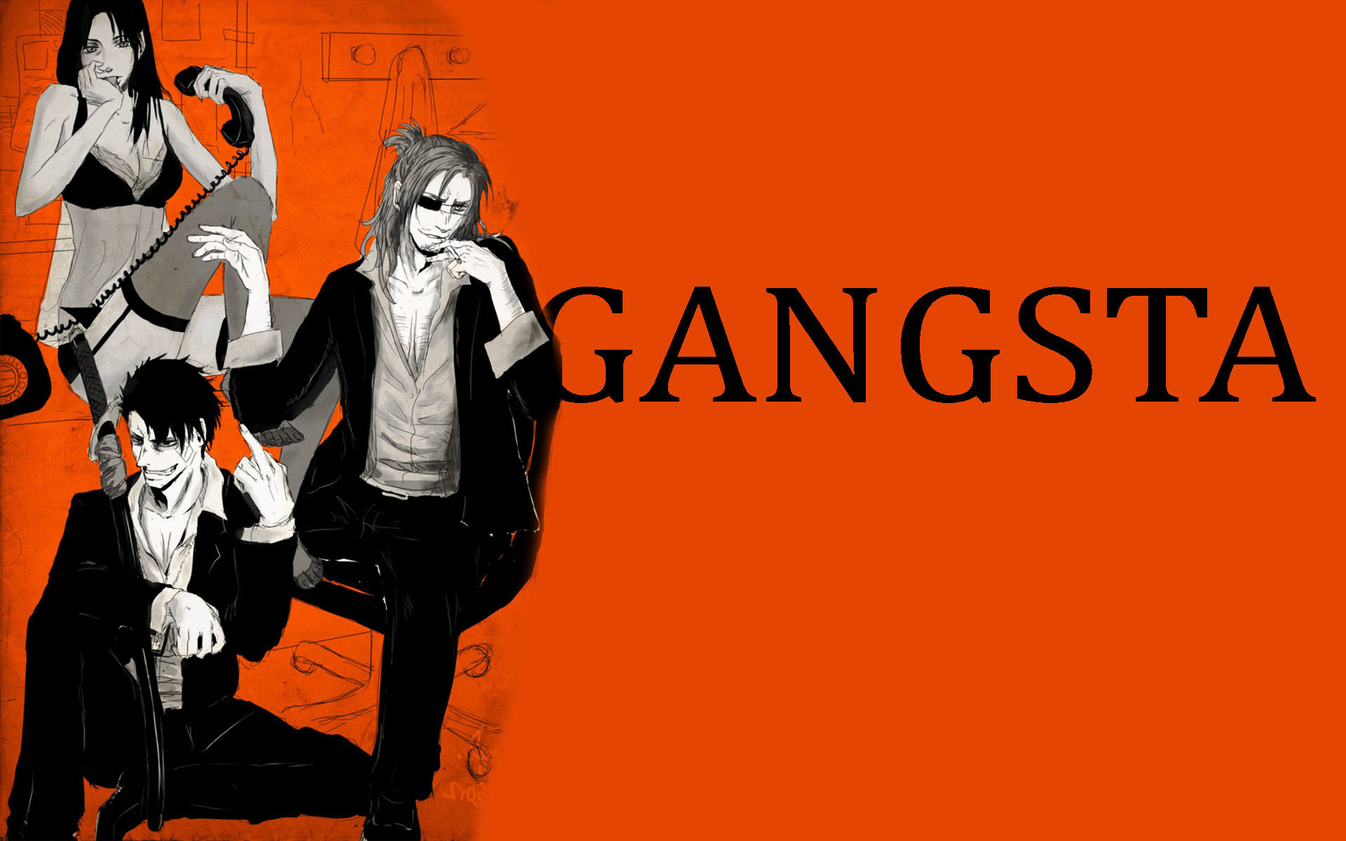 Res: 1920x1200, HD Gangsta Pictures.