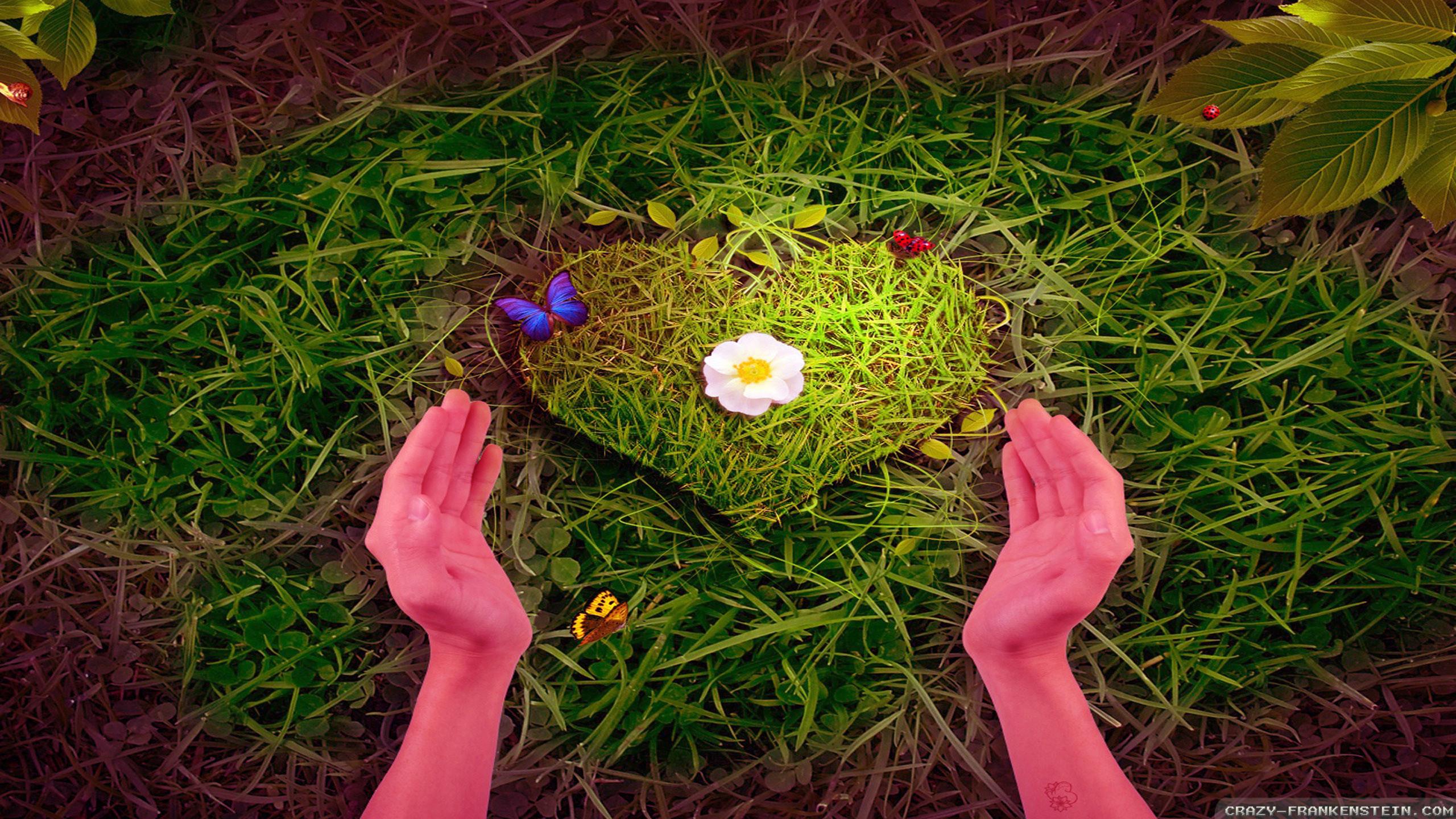Res: 2560x1440, Download Hd Wallpaper Nature Love | mojmalnews.com