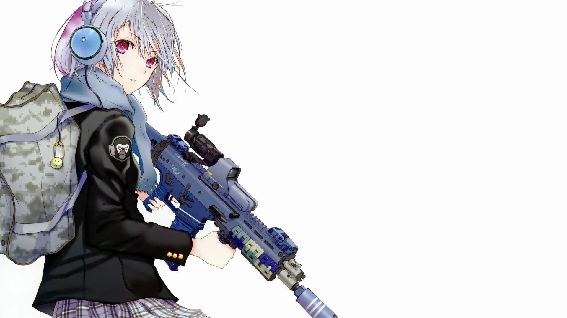 Res: 1920x1080, Anime Gun Wallpaper 1920X1080 Widescreen 2 HD Wallpapers