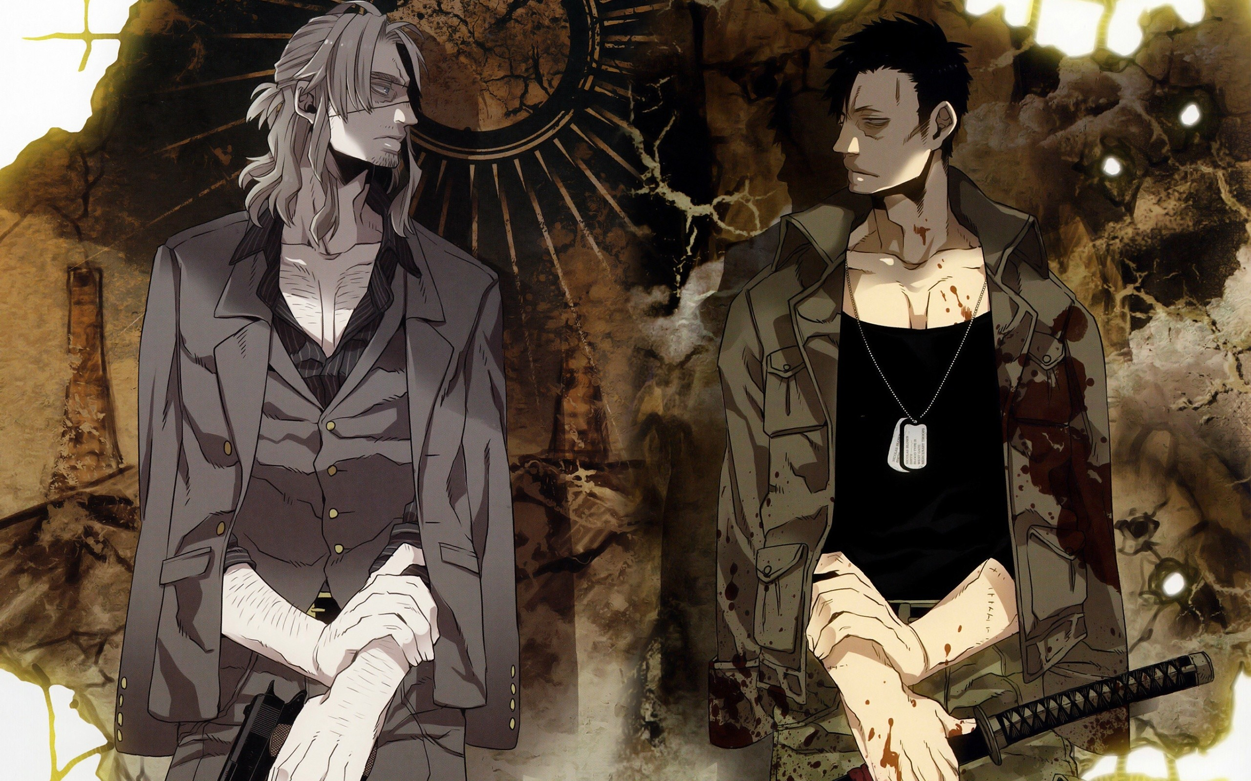 Res: 2560x1600, GANGSTA. Wallpapers de Anime - Parte 6. Charlotte