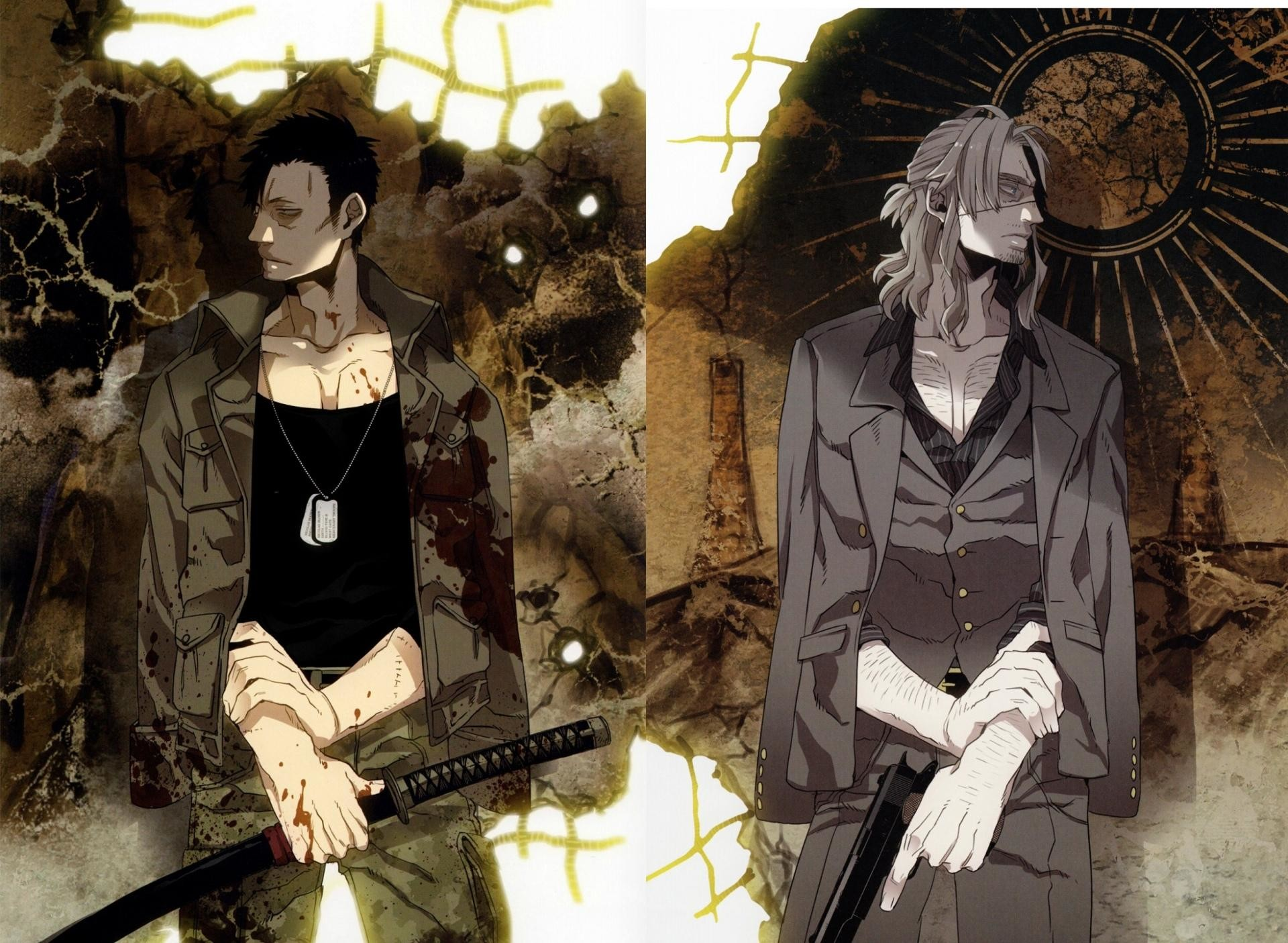 Res: 1920x1405, Anime Gangsta 720x1280 Mobile Wallpaper Source · Gangsta Anime Wallpaper HD  Download