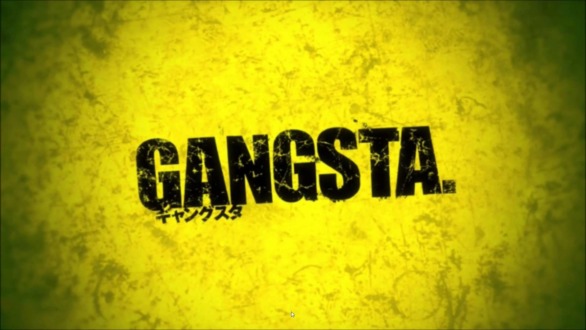 Res: 1920x1080, Anime - Gangsta. Wallpaper
