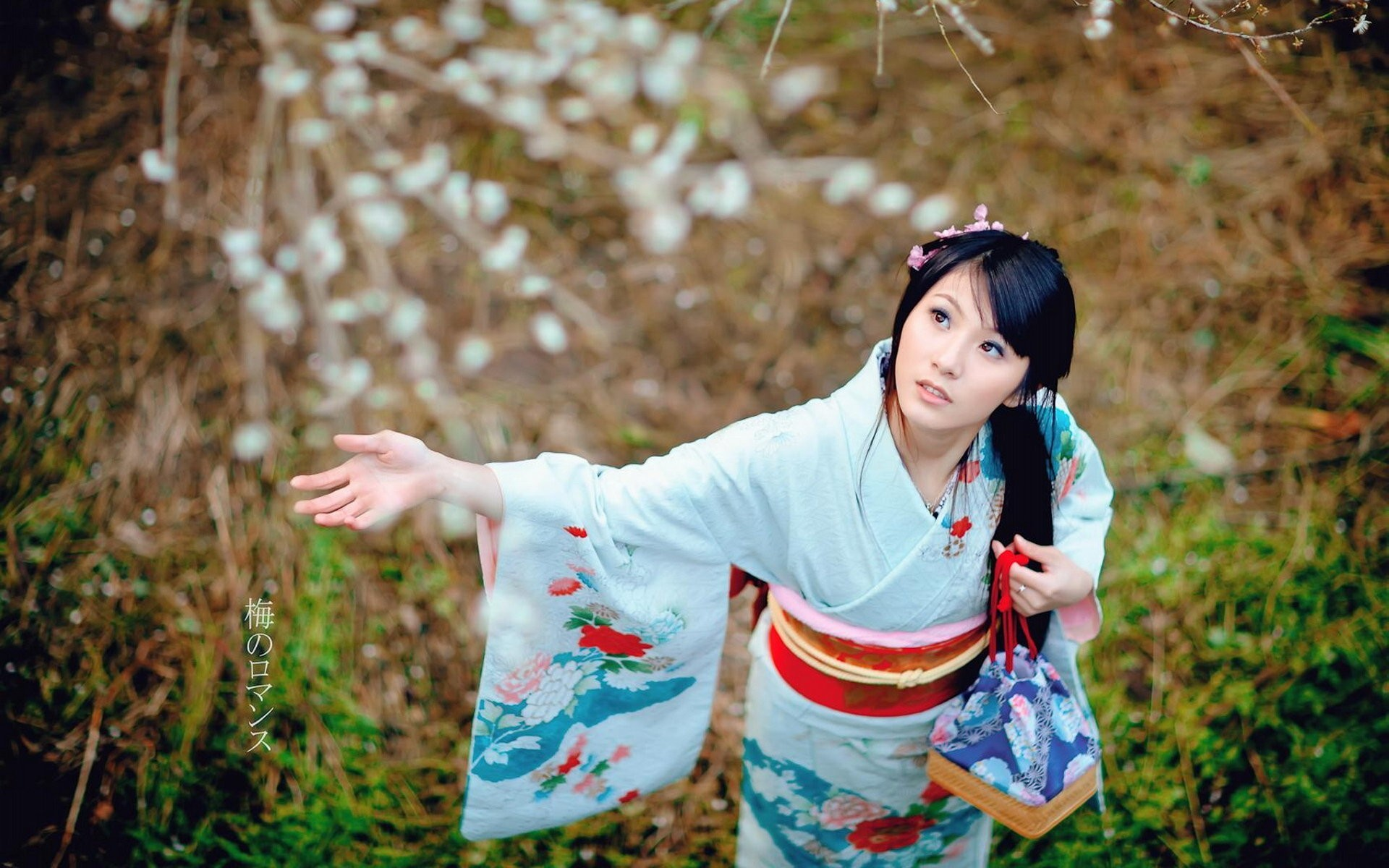 Res: 1920x1200, Bild: Mädchen im Kimono wallpapers and stock photos. «