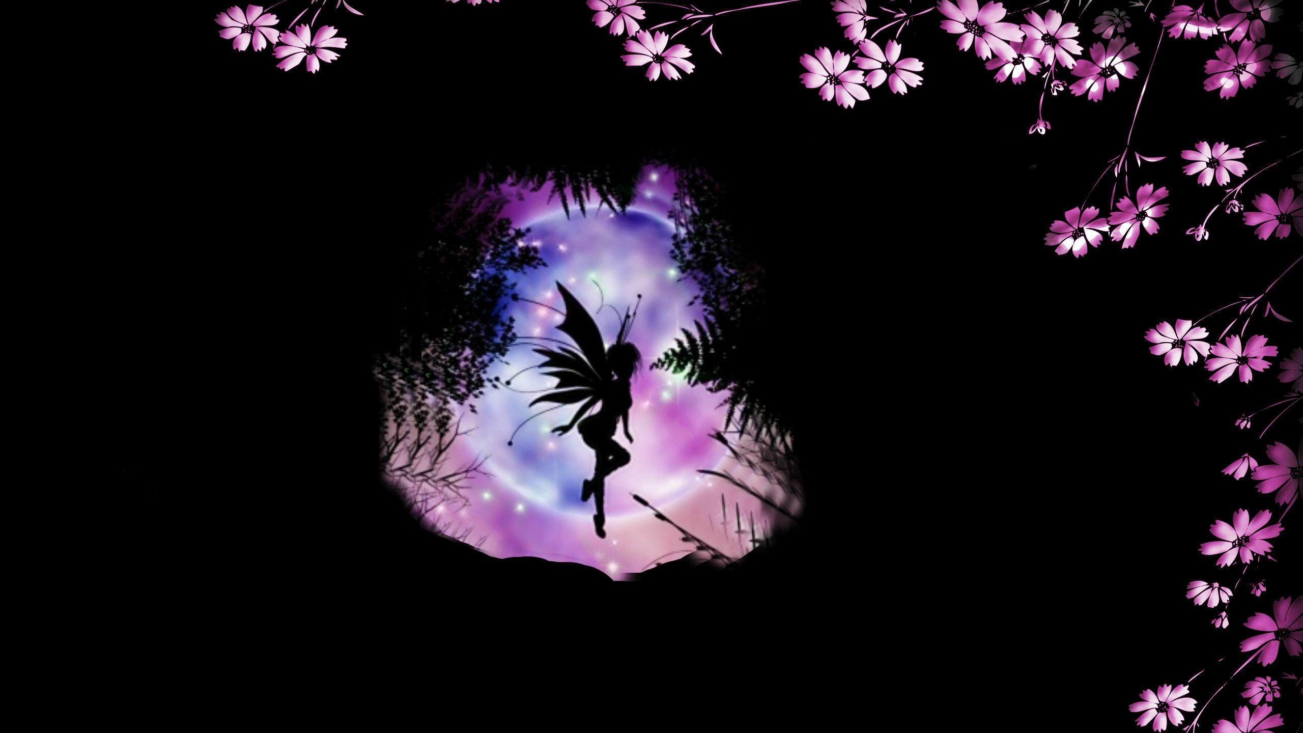 Res: 2560x1440, Fairy Wallpaper Desktop Wallpaper 2560×1440 Fairy Desktop Backgrounds (53  Wallpapers) | Adorable