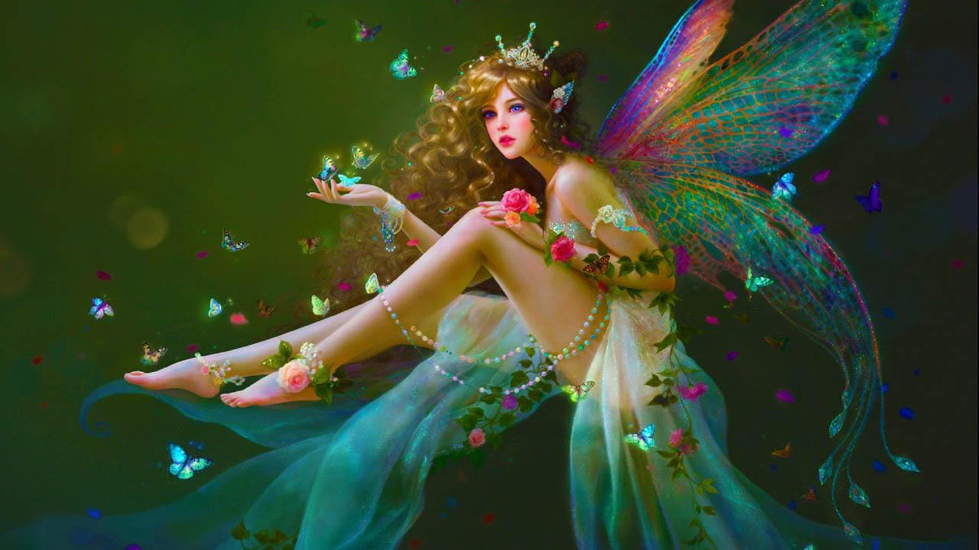 Res: 1920x1080, Fairy High Definition Wallpaper Backgrounds Full Hd Pics Of Androids  Fantasy Desktop