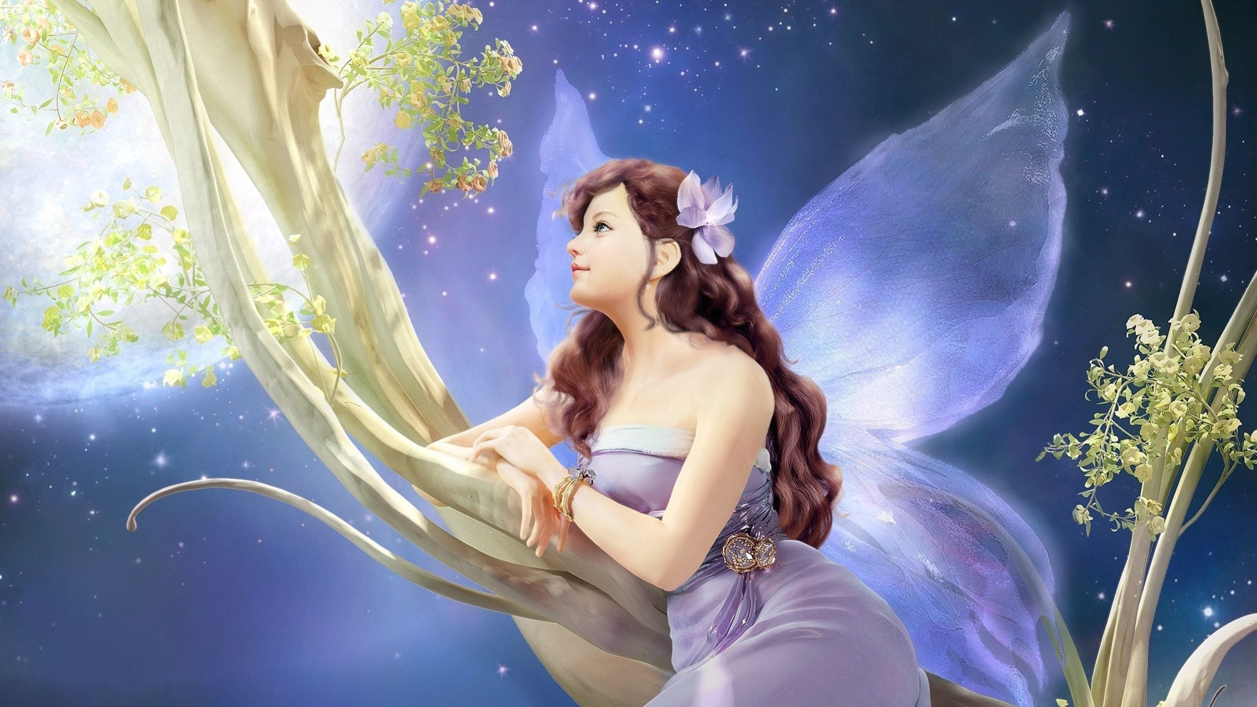 Res: 2560x1440, Fairy Wallpapers 5 - 2560 X 1440