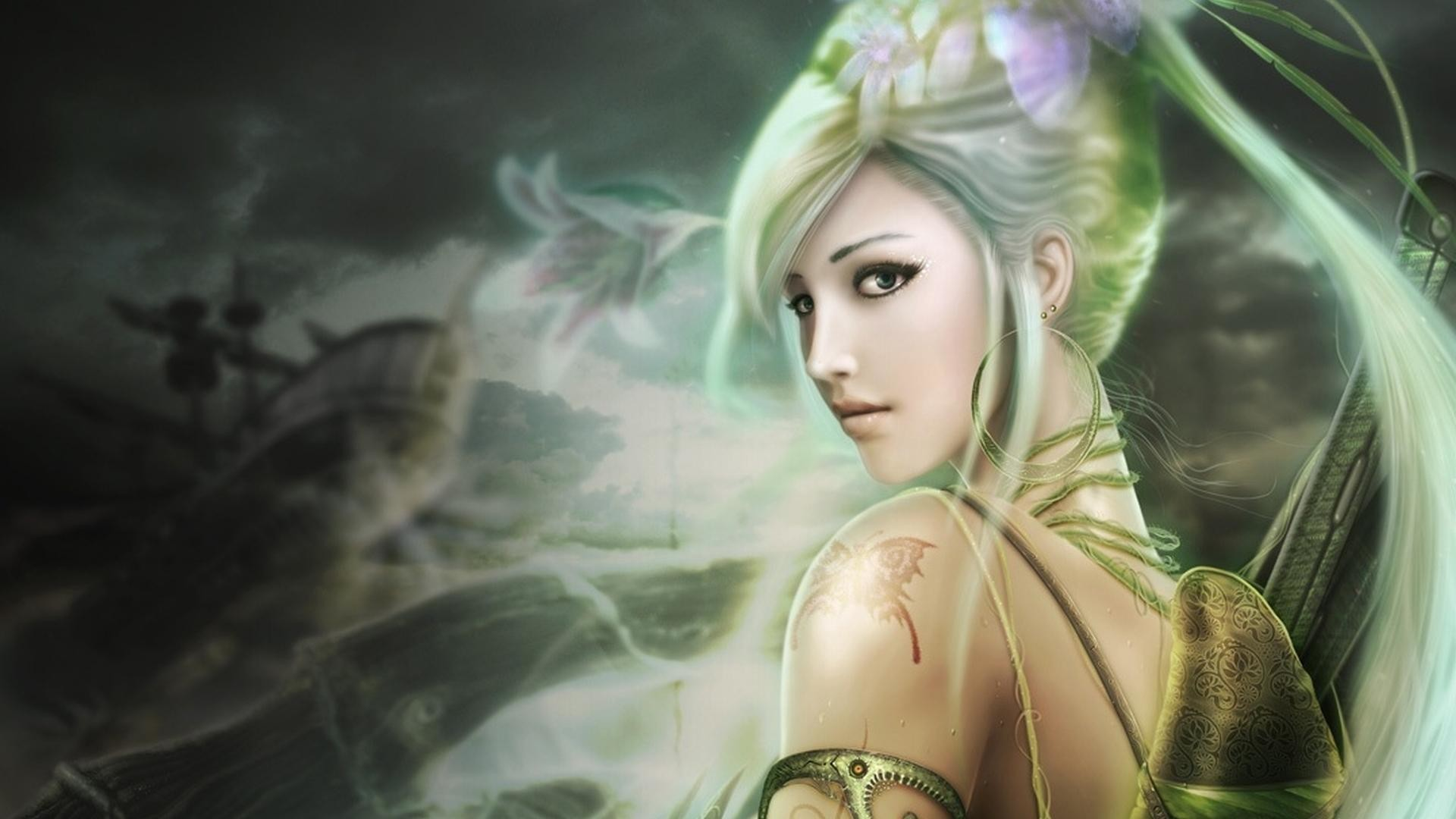 Res: 1920x1080, Amazing Fairy Backgrounds Wide Photos