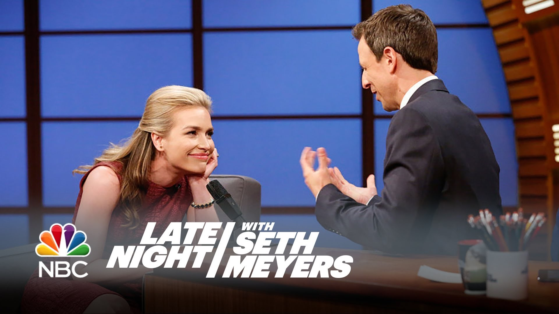 Res: 1920x1080, Piper Perabo and Seth's Interesting First Meeting - Late Night with Seth  Meyers - YouTube