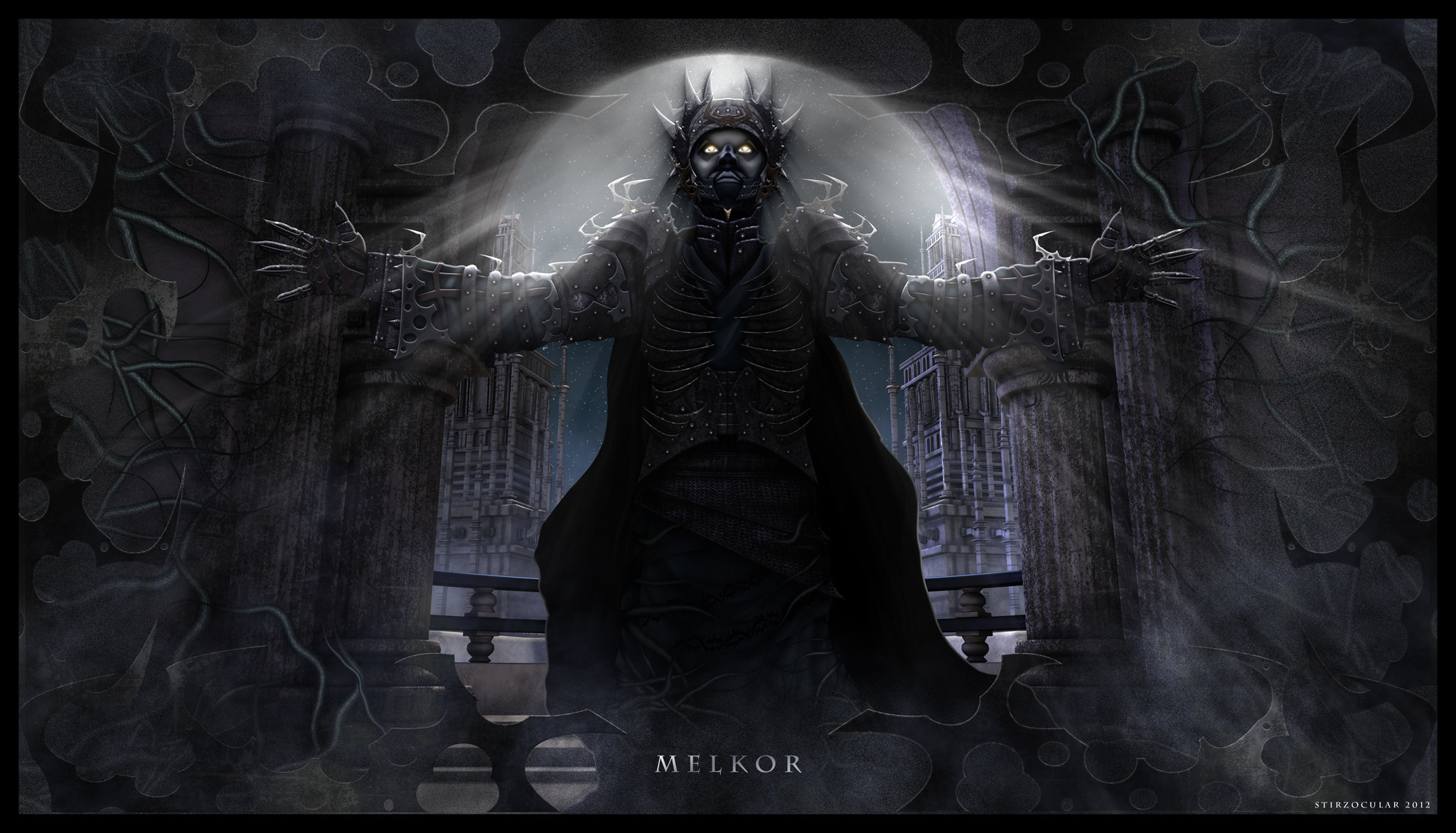 Res: 2048x1171, Melkor Unchained by Stirzocular Melkor Unchained by Stirzocular