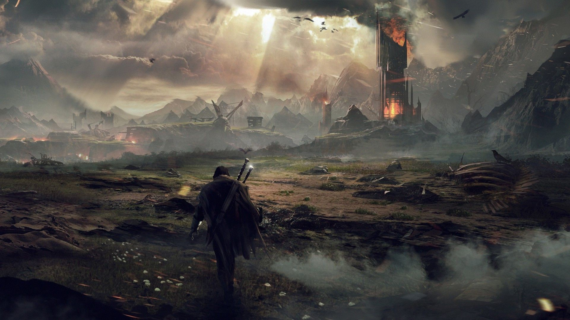 Res: 1920x1080, Middle-Earth: Shadow of Mordor - The Blast review - Blast